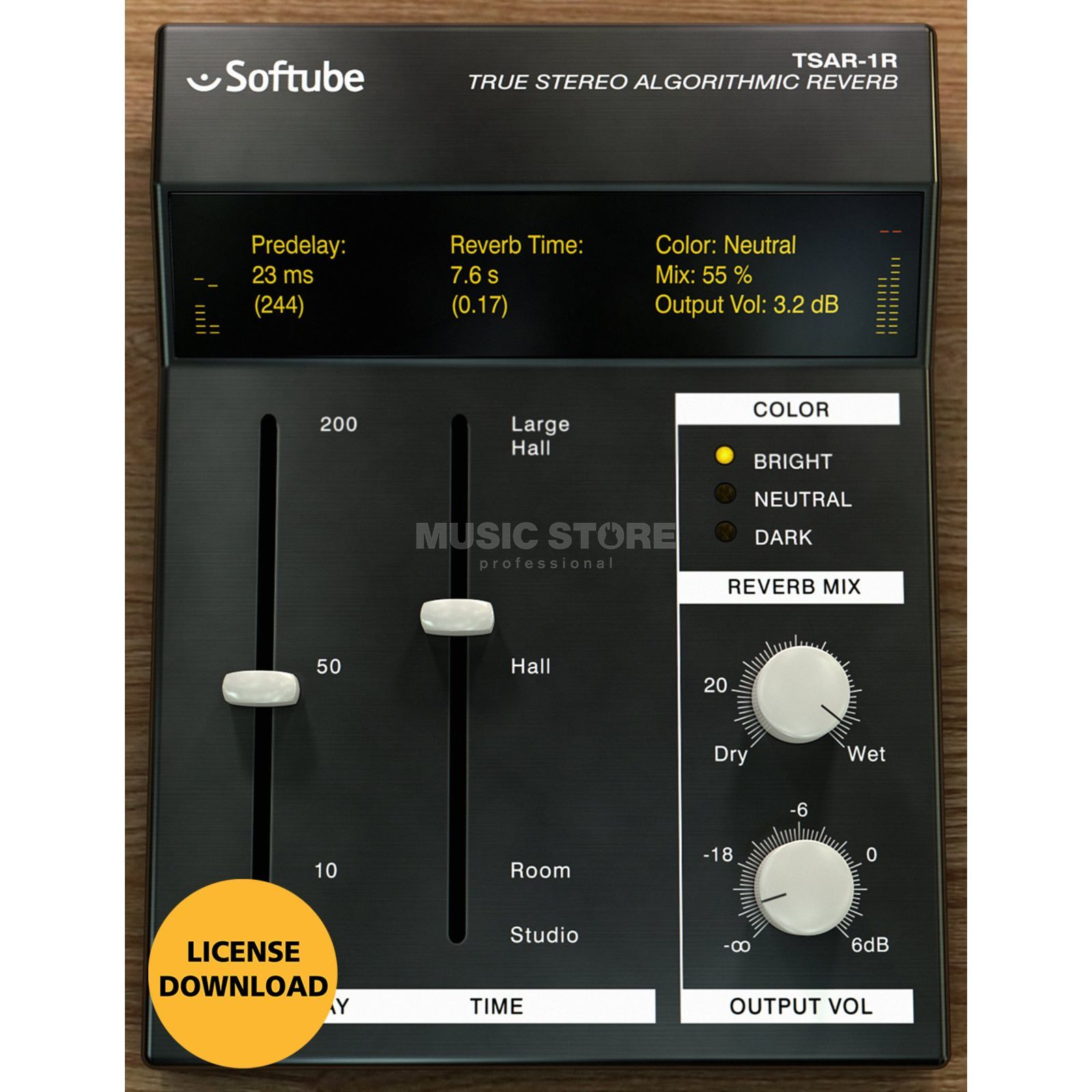 Softube TSAR-1R Reverb (DOWNLOAD) Produktbild
