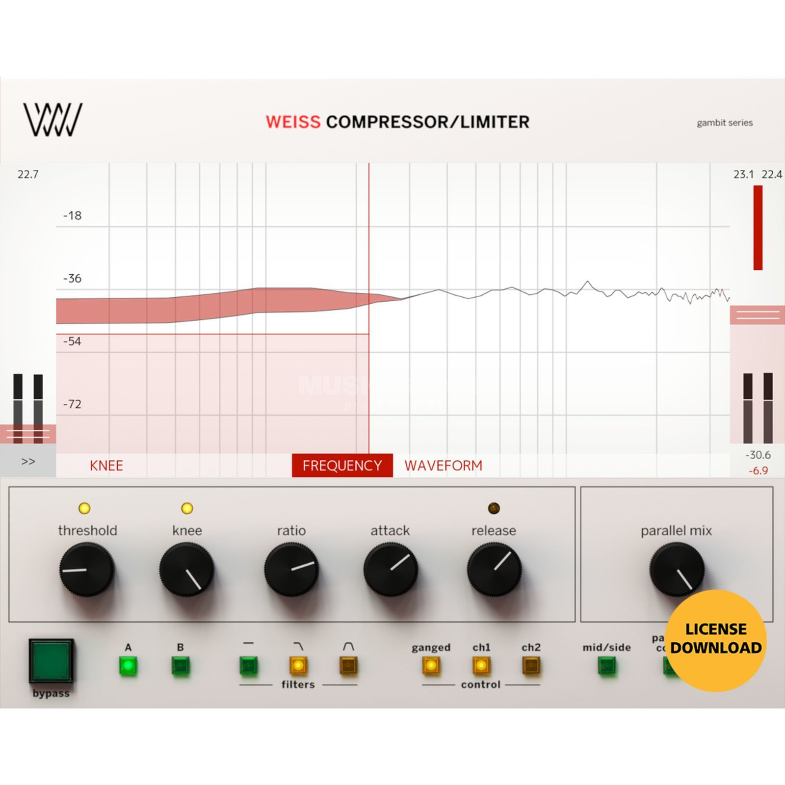 Softube Weiss Compressor/Limiter License Code Product Image