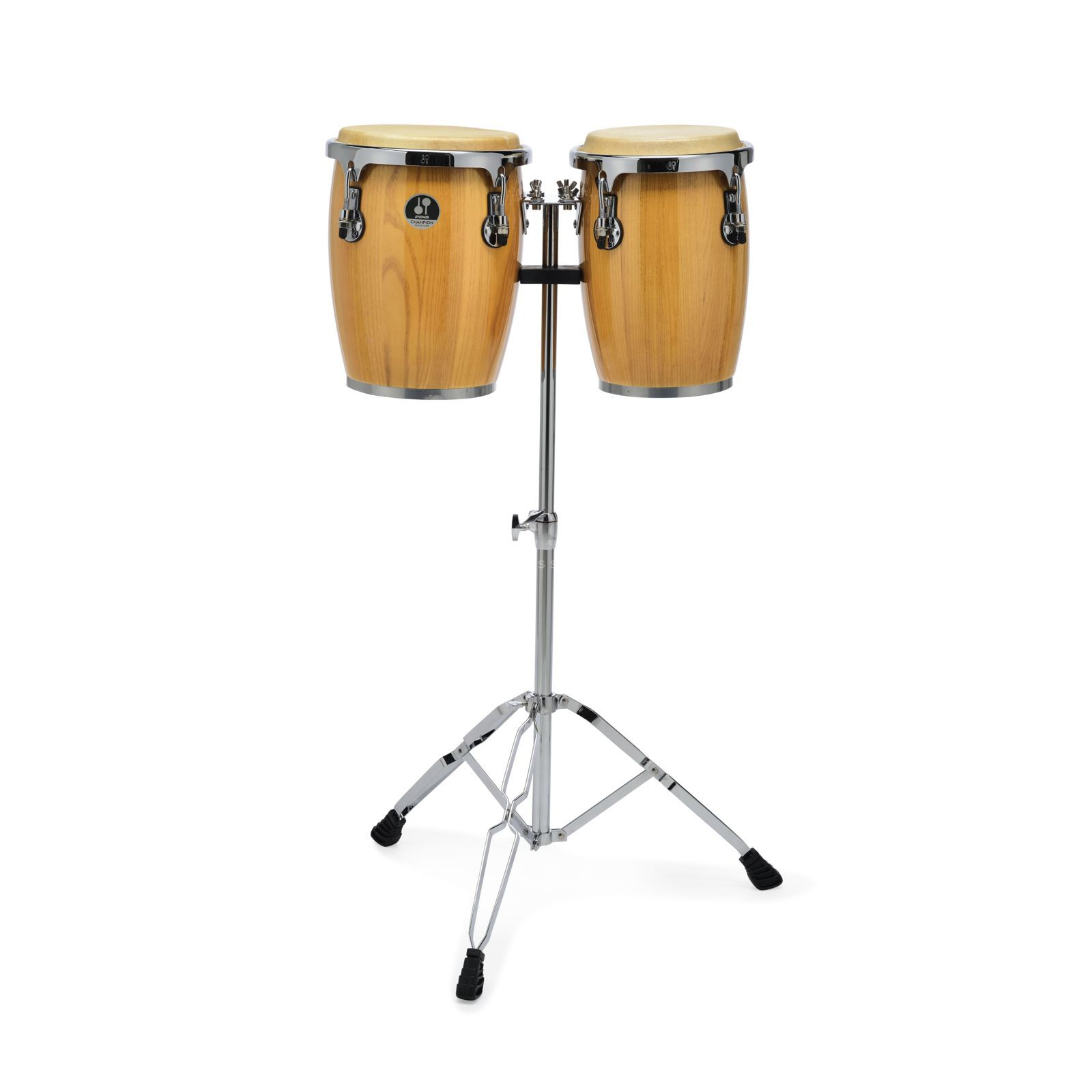 "Sonor Champion Mini Conga Set CMC0910NHG, 9"" & 10"" Natural Product Image"