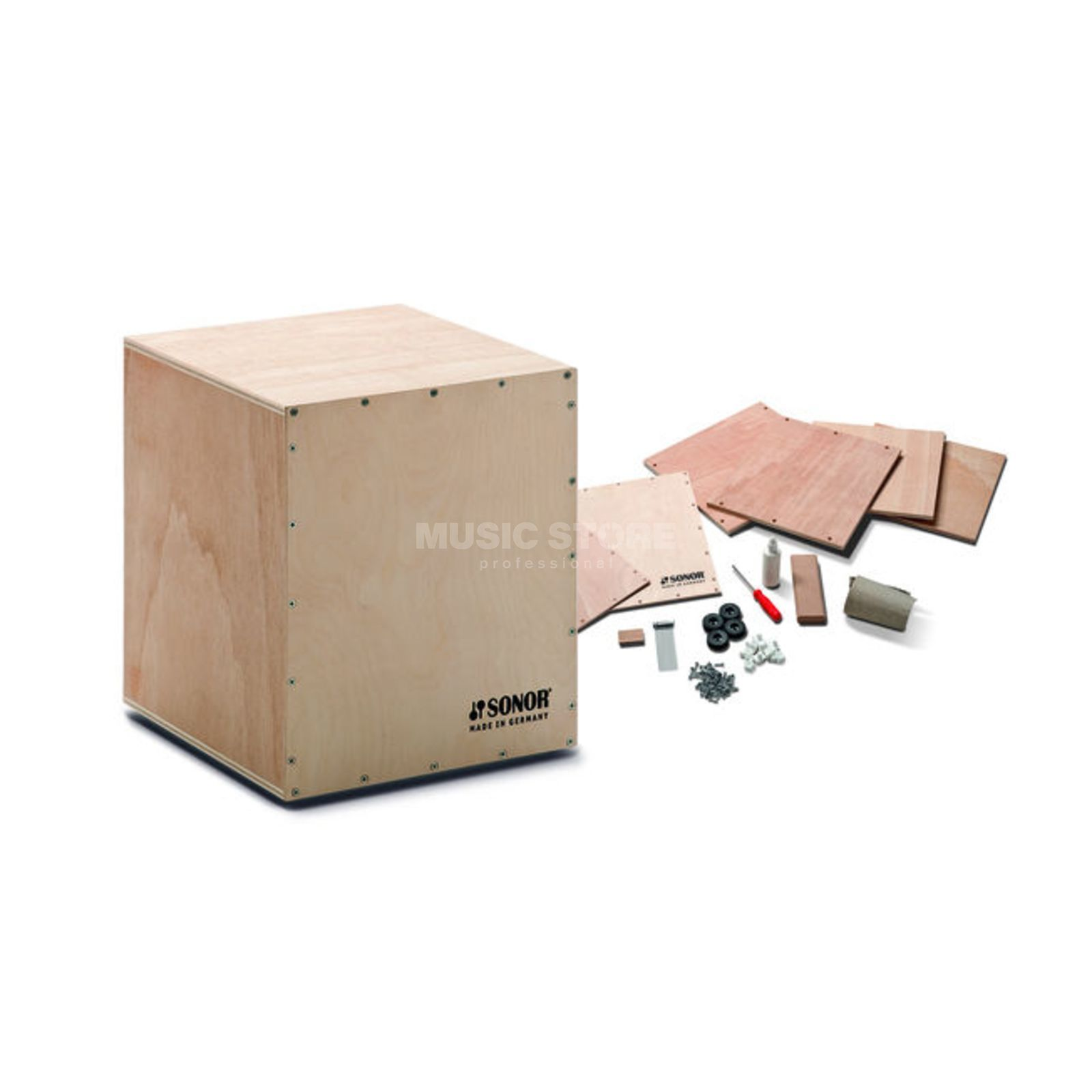 Sonor DIY Cajon Assembly Kit CAJS DIY K, Kids, B-Stock Produktbillede