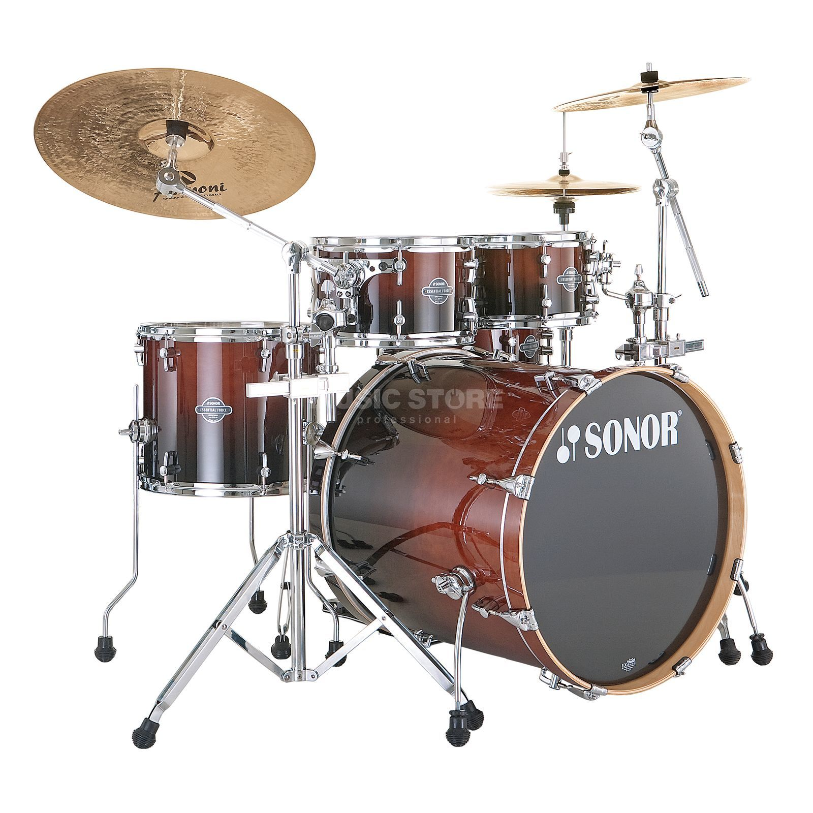 Sonor Essential Force Stage 3, Brown Fade #22 Produktbild