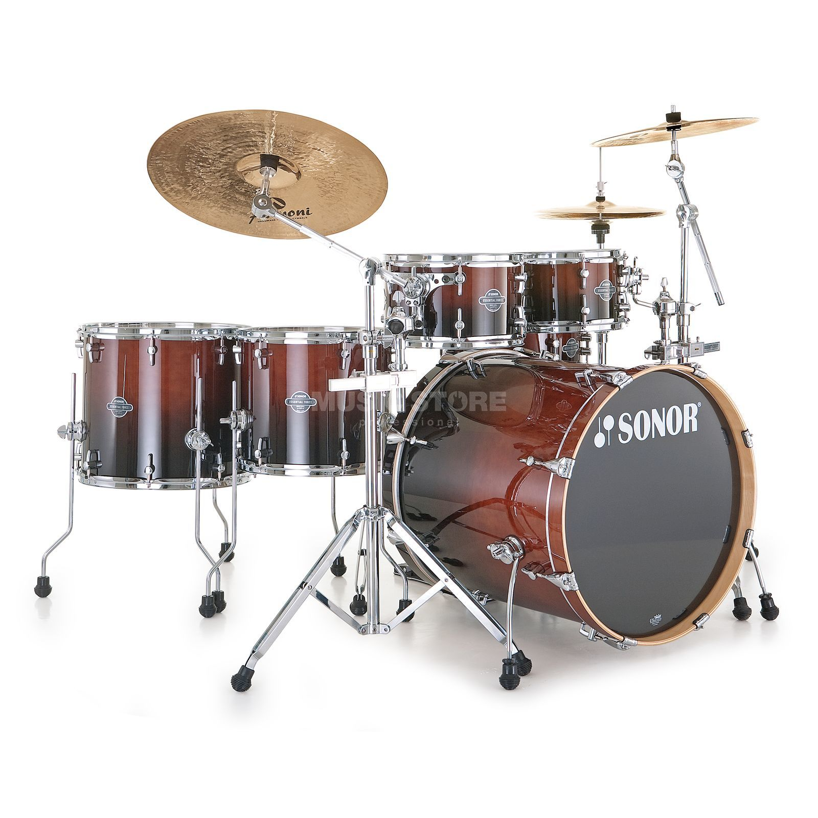 Sonor Essential Force Stage S Drive, Brown Fade #23 Produktbillede
