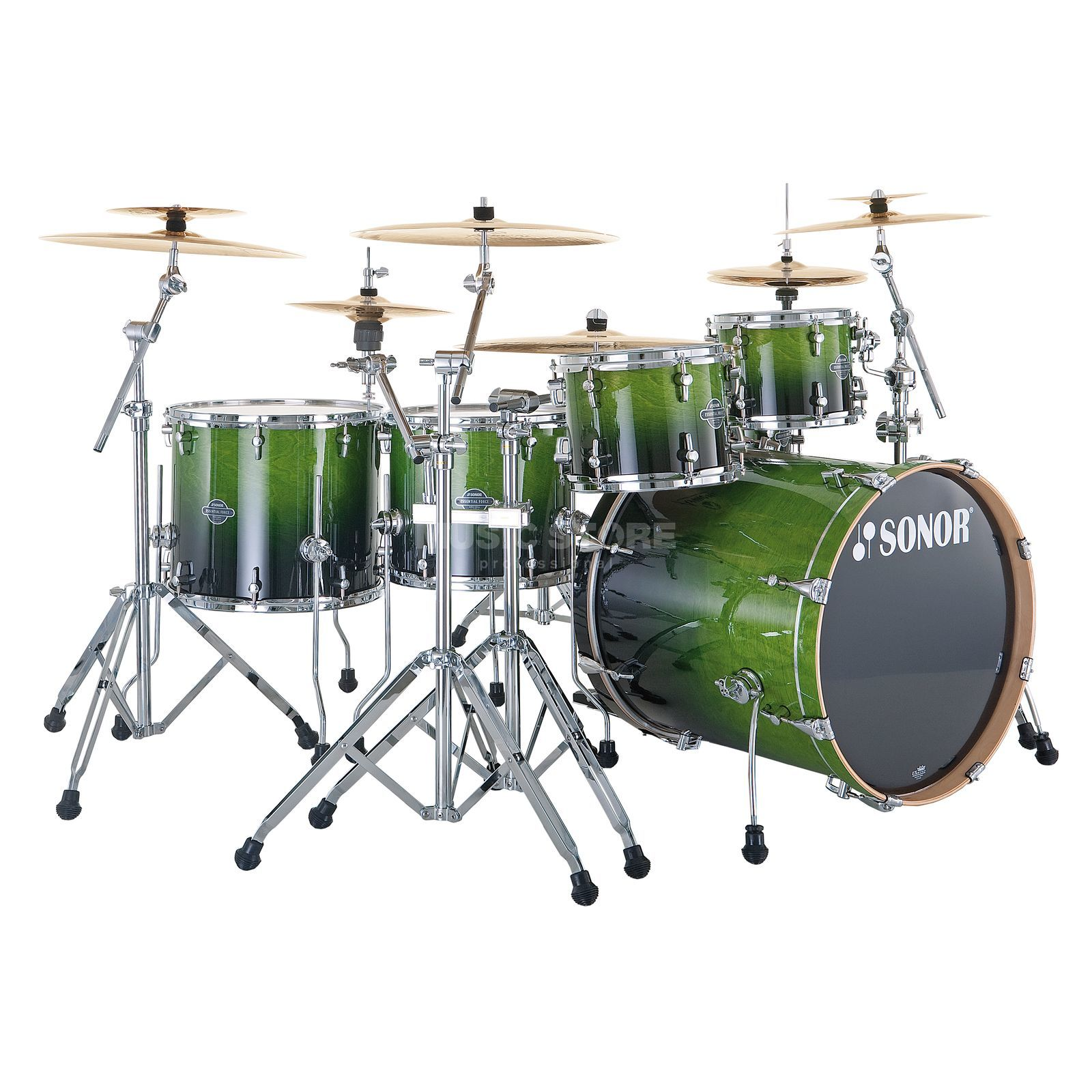 Sonor Essential Force Stage S Drive, Green Fade #21 Produktbillede