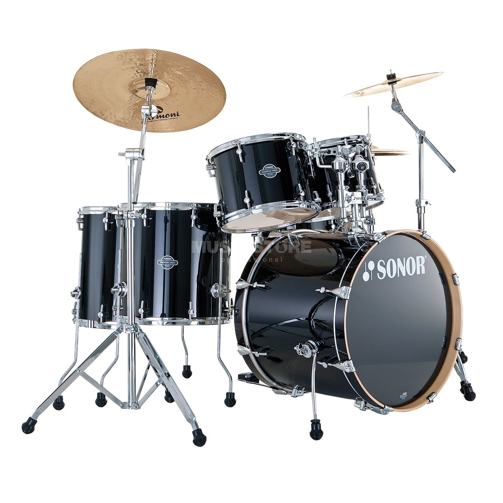 Sonor Essential Force Stage S Drive, Piano Black #41 Produktbillede