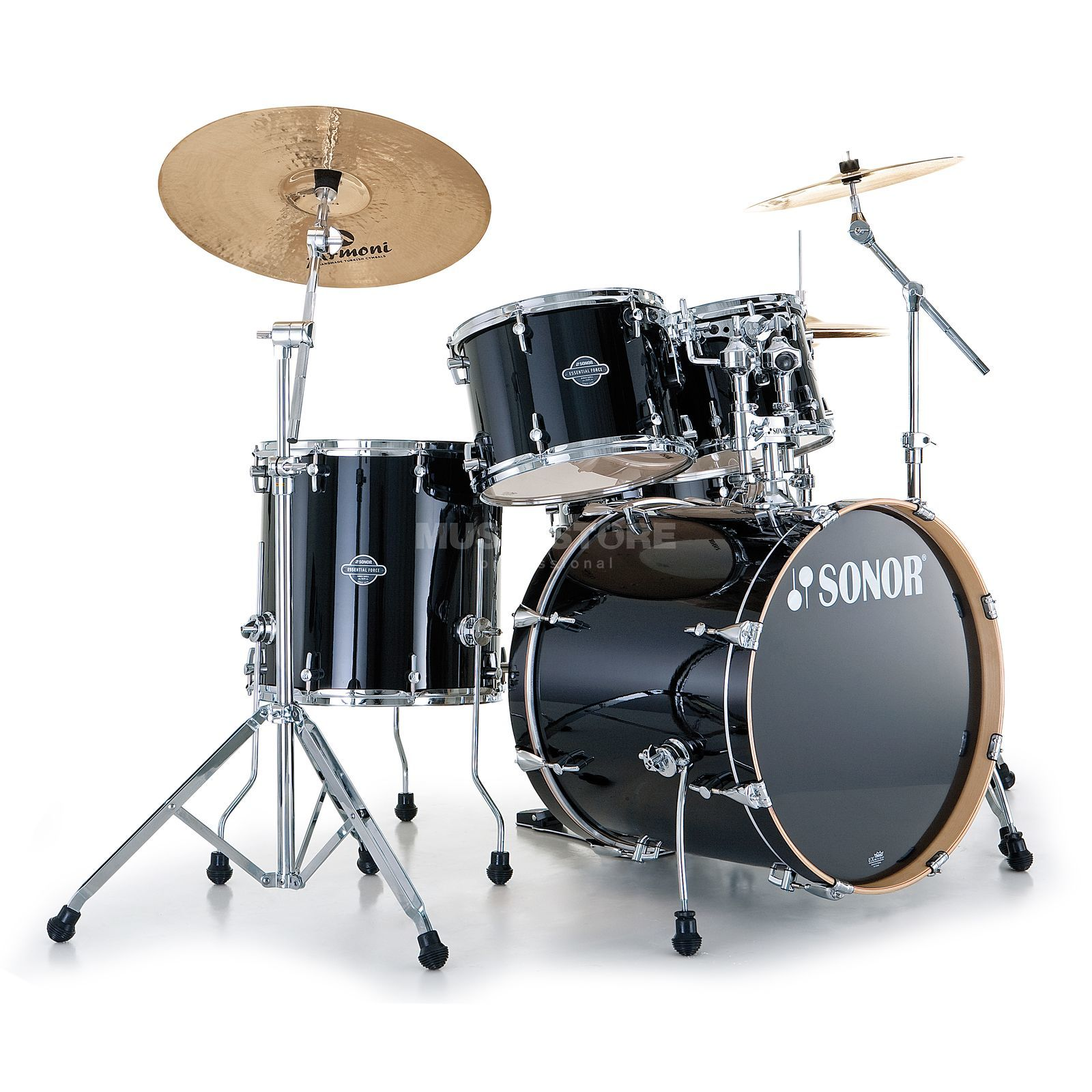 Sonor Essential voorce Stage 3, Piano zwart #40 Productafbeelding