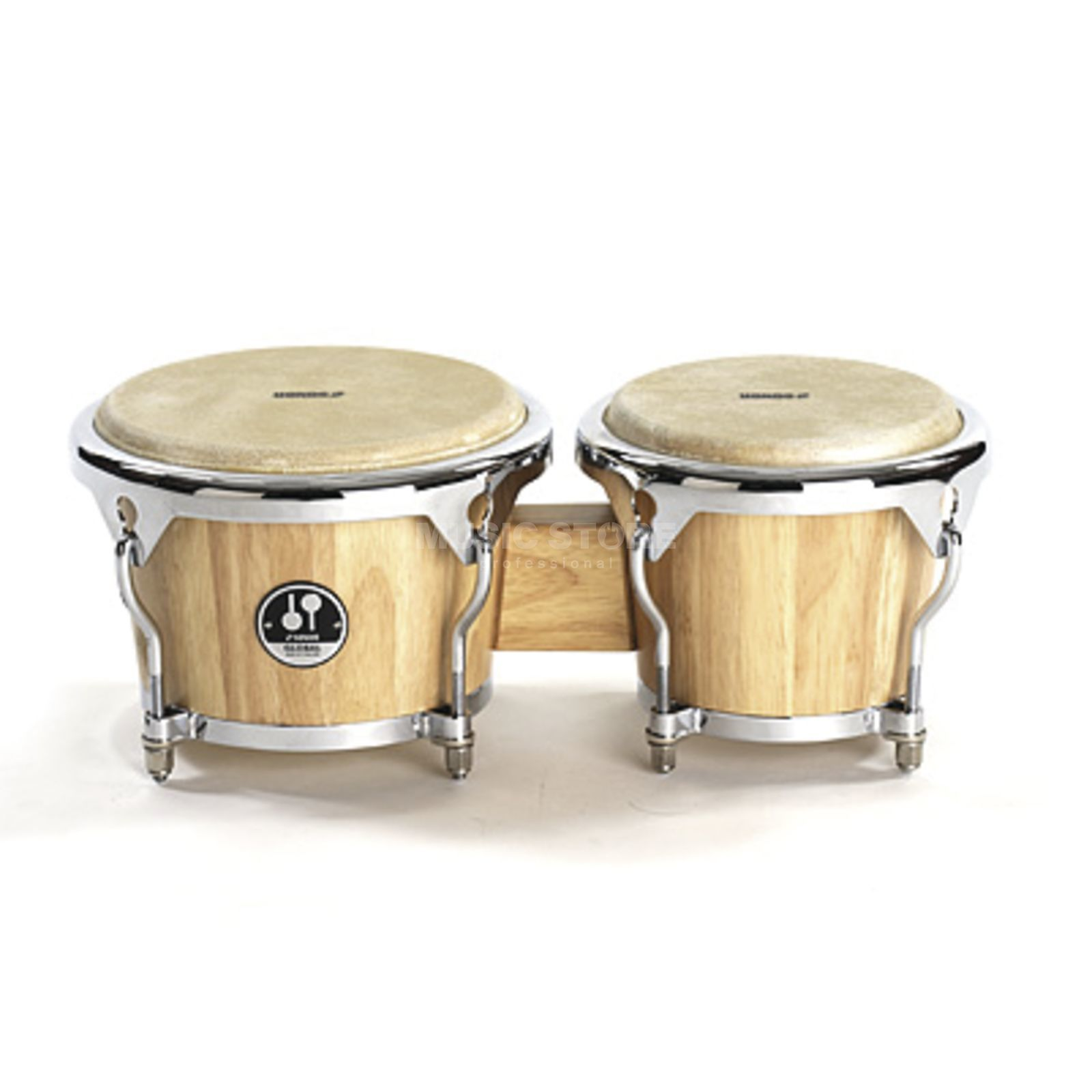 "Sonor Global Bongos GBW7850NM 7""+8 1/2"", Natural Matte Produktbillede"