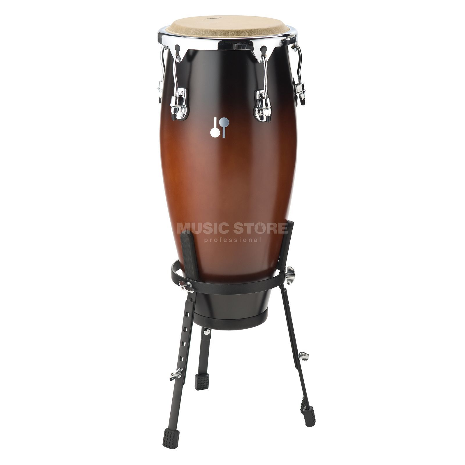 "Sonor Global Conga GCFS 1175 BF, 11 3/4"", Brown Fade, Fiberglas Productafbeelding"