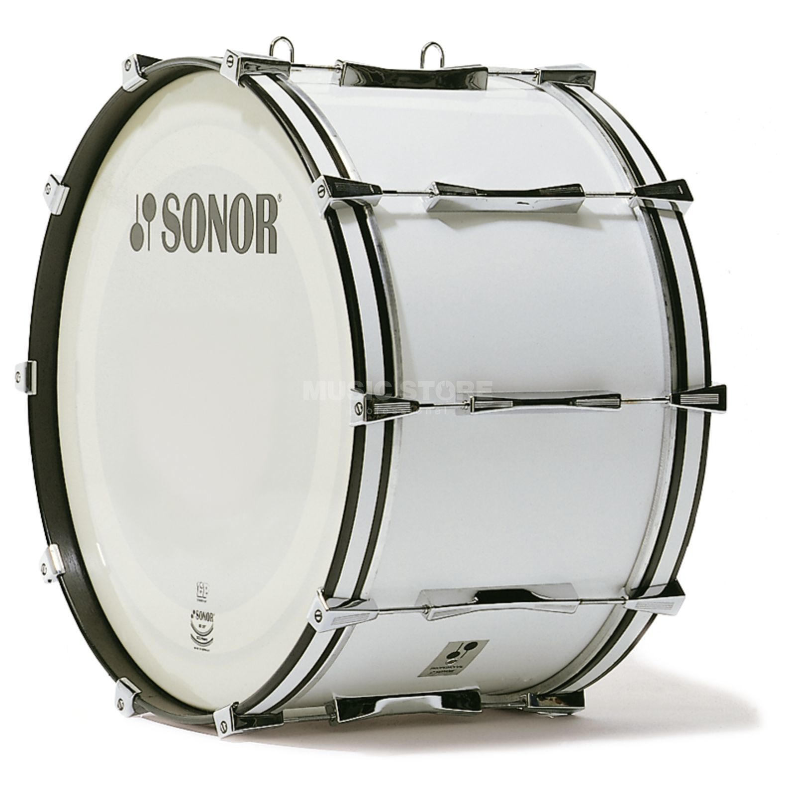 "Sonor Marching BassDrum MP 2614 CW, 26""x14"", white Produktbild"