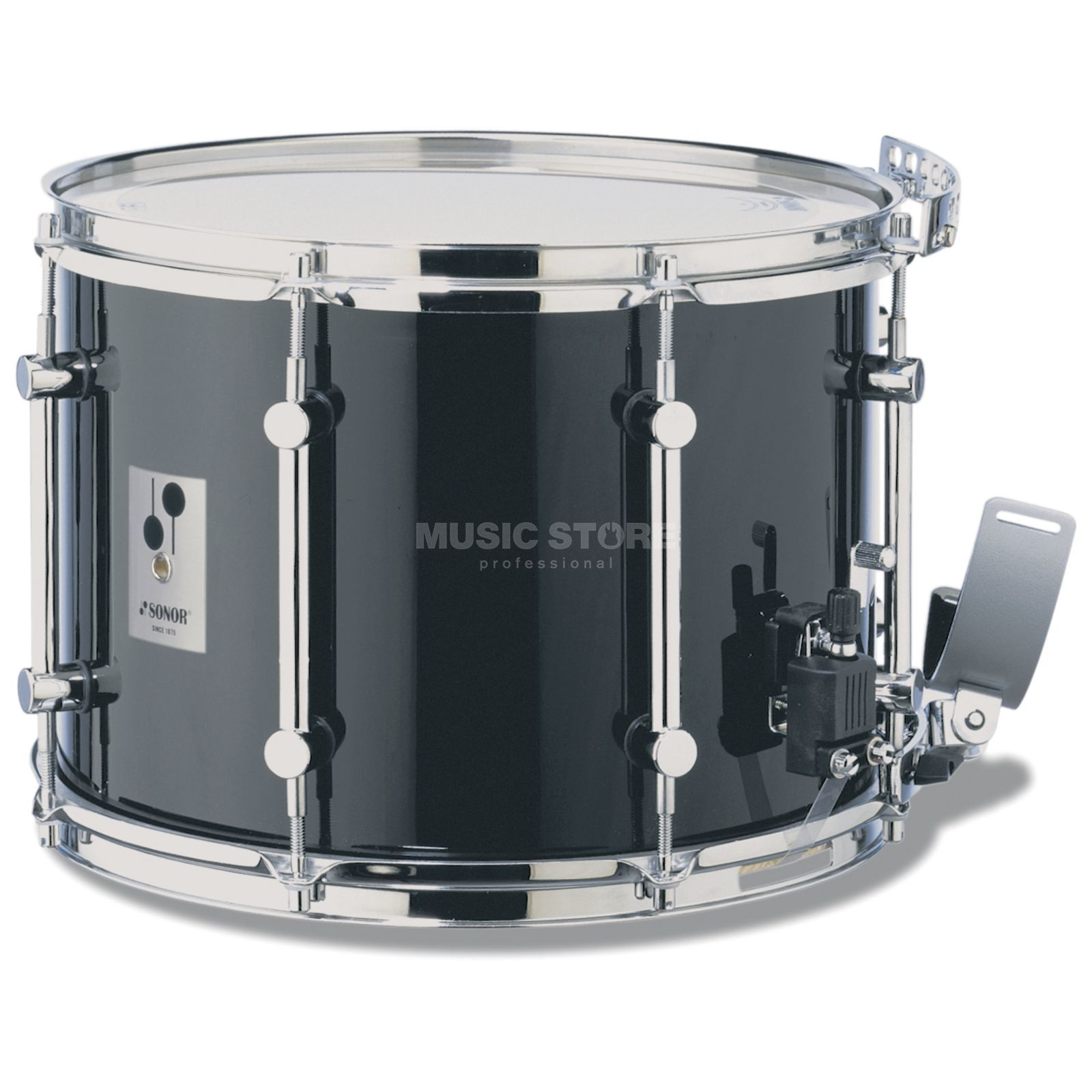 "Sonor Marching Snare MB1412CB, 14""x12"", B-Line Serie, black Produktbild"