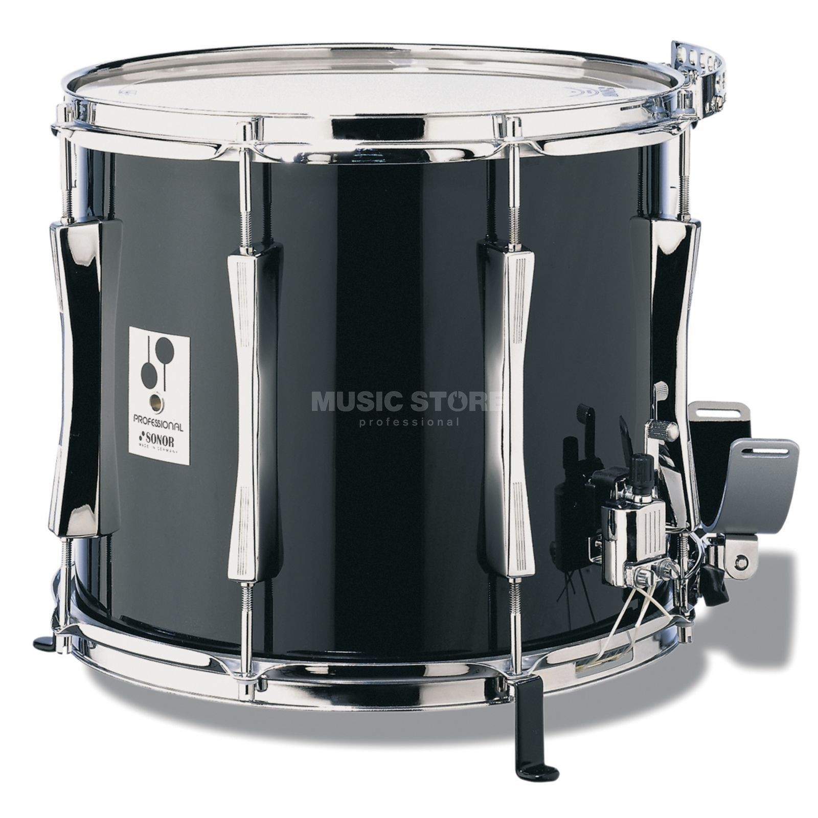 "Sonor Marching Snare MP1412CB, 14""x12"", Professional, black Produktbild"