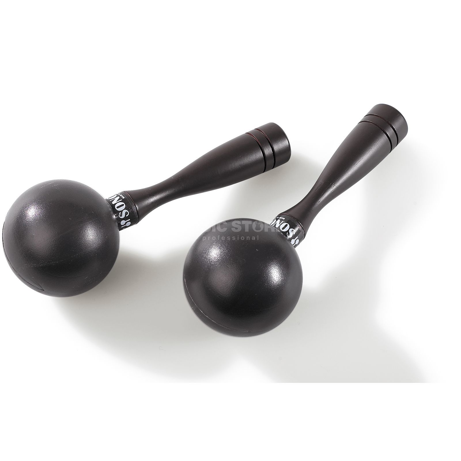 Sonor Mini Maracas MMBR, brown Product Image