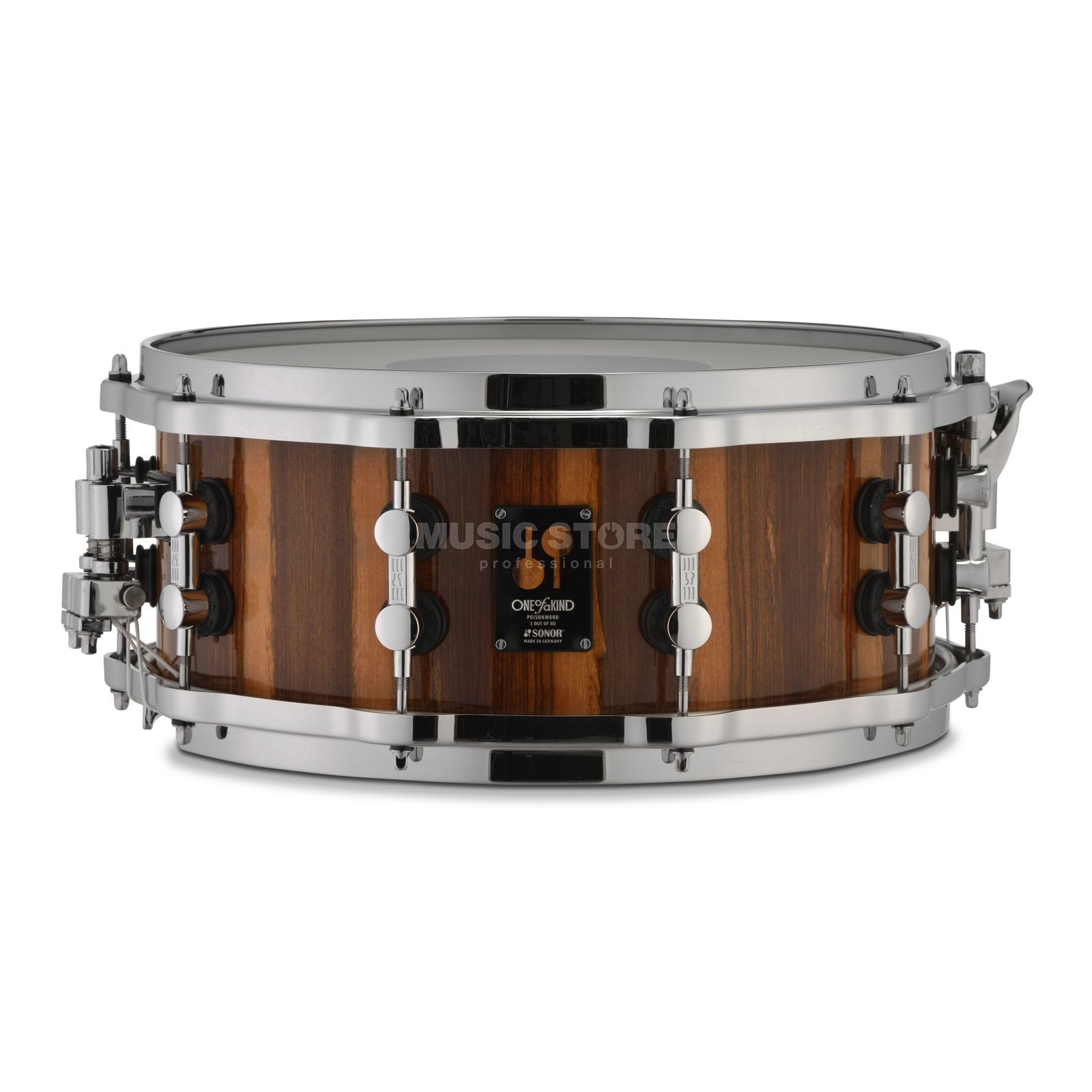 "Sonor One of a kind Snare 14""x6"", Poisonwood Produktbillede"