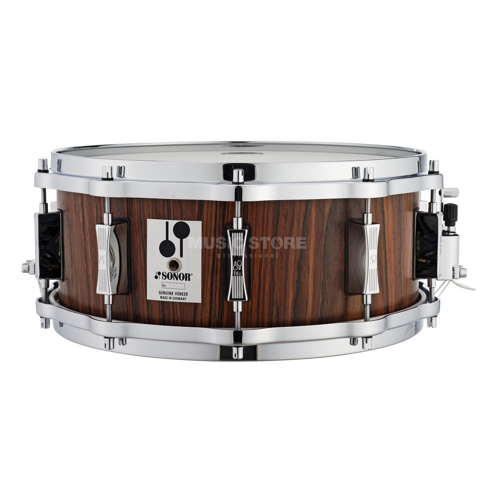 "Sonor Phonic Re-Issue Snare D 515 PA 14""x5 3/4"", Rosewood #PA Product Image"