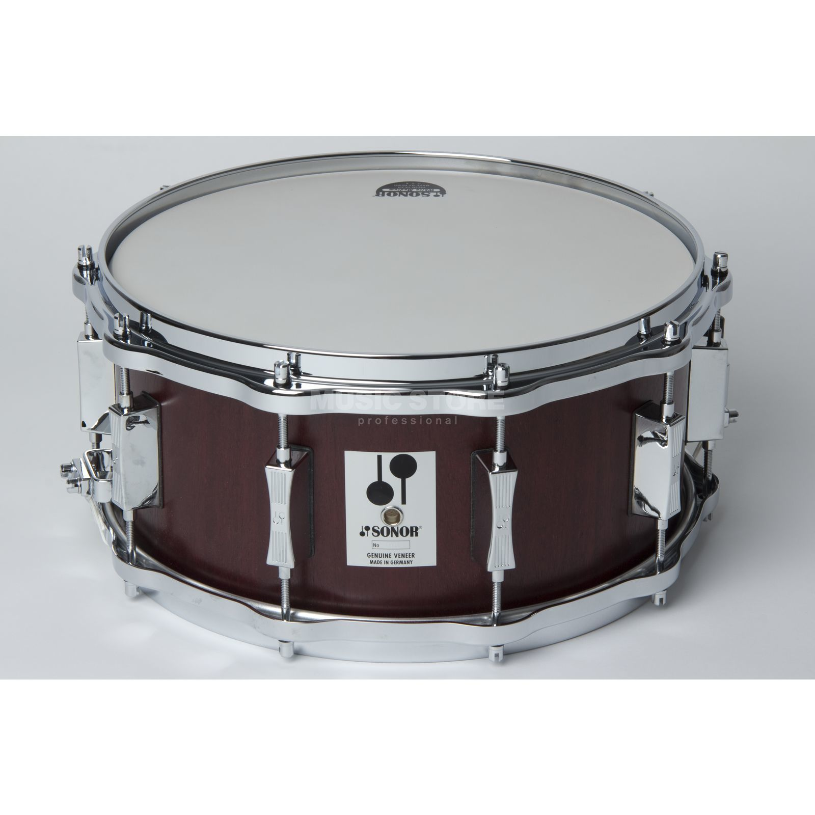 "Sonor Phonic Re-Issue Snare D 516 MR 14""x6 1/2"", Mahagony #MR Produktbild"