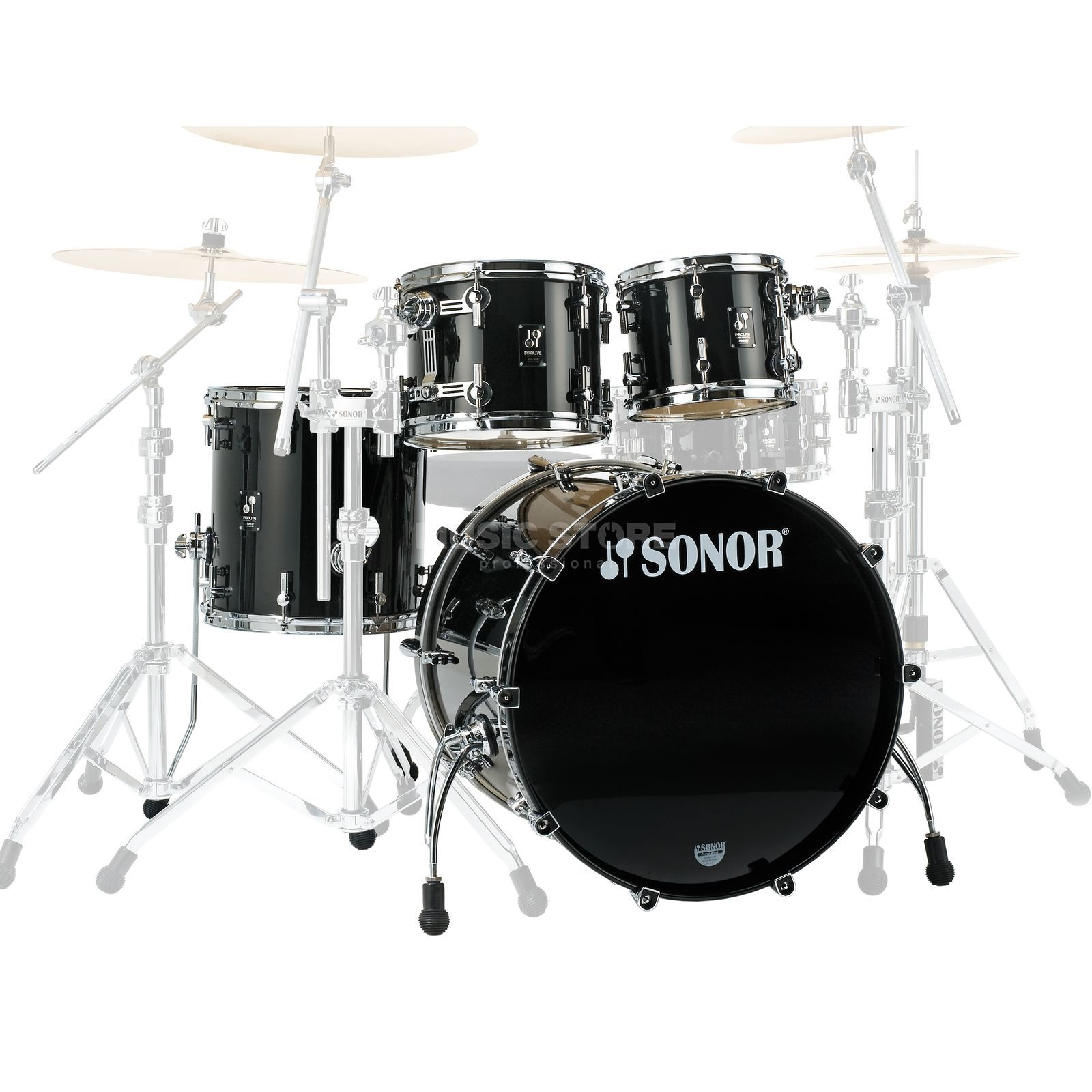 Sonor ProLite Stage 3, Brilliant Black #55 Produktbild
