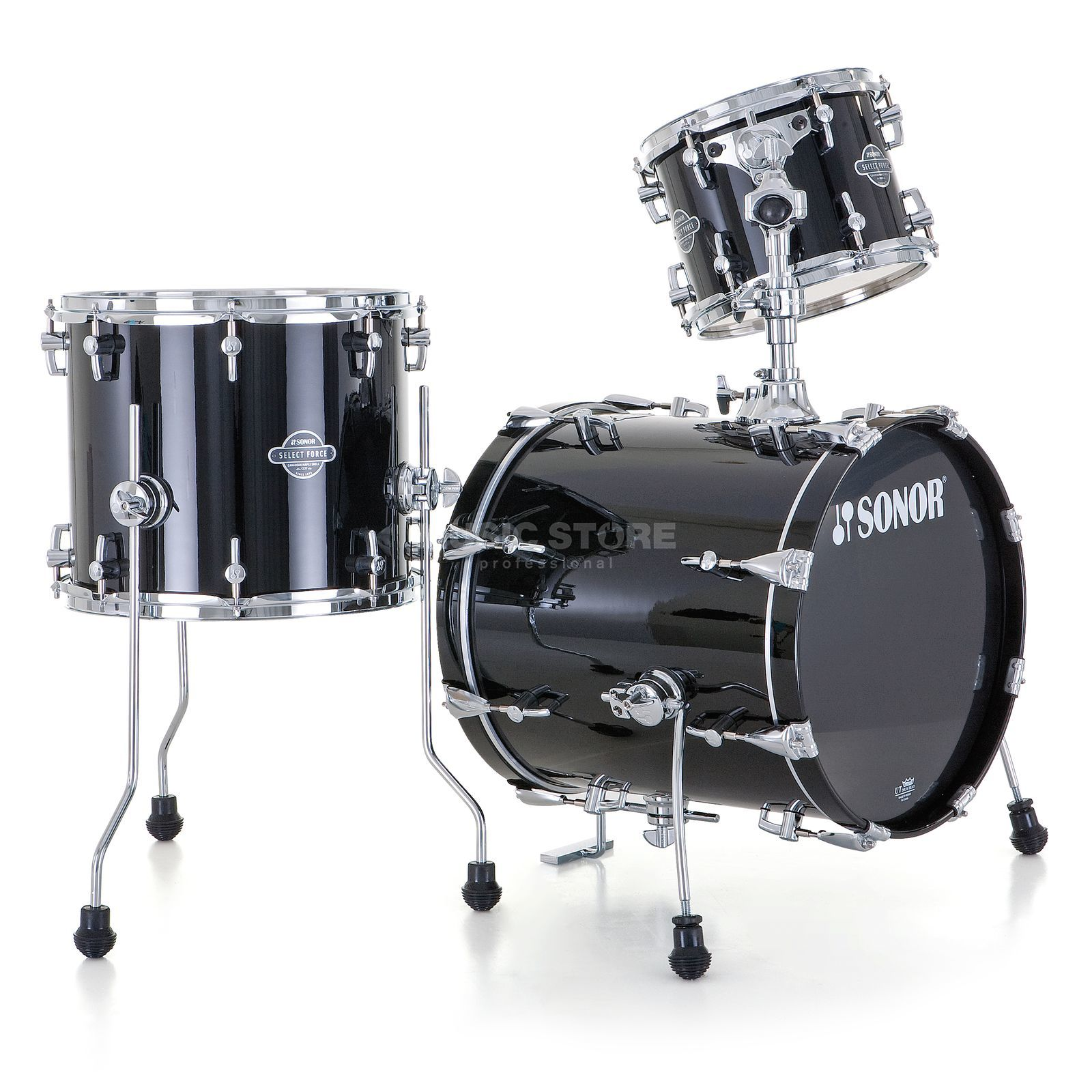 Sonor Select Force Jungle ShellSet, Piano Black #41 Produktbillede