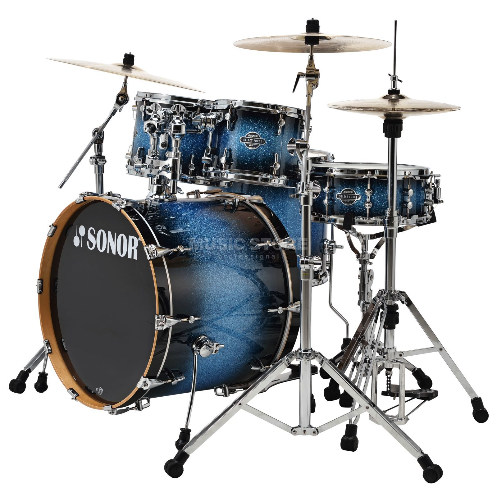 Sonor Select Force Stage 3, Blue Galaxy Sparkle #34 Produktbillede