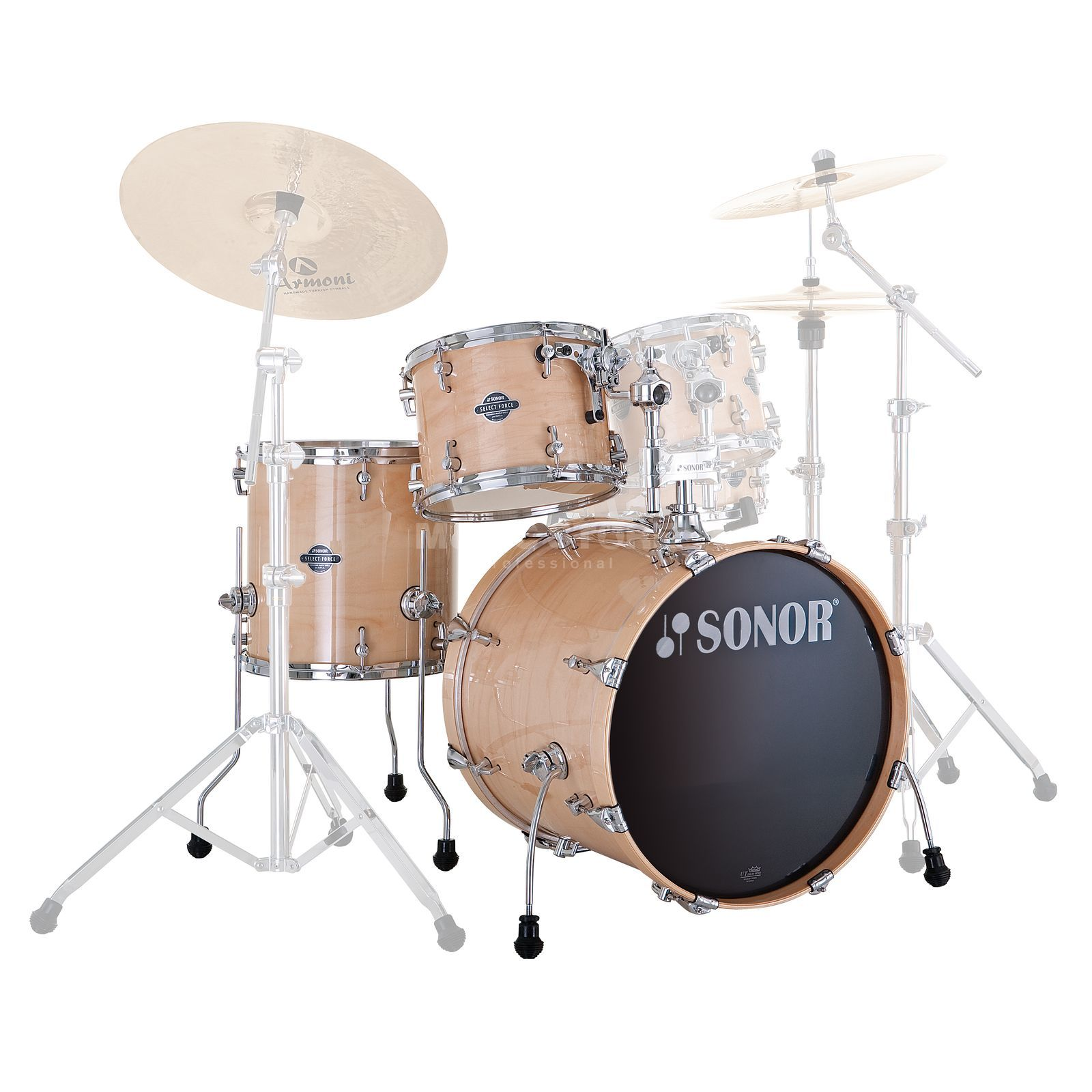 Sonor Select voorce Jungle ShellSet, Maple #44 Productafbeelding