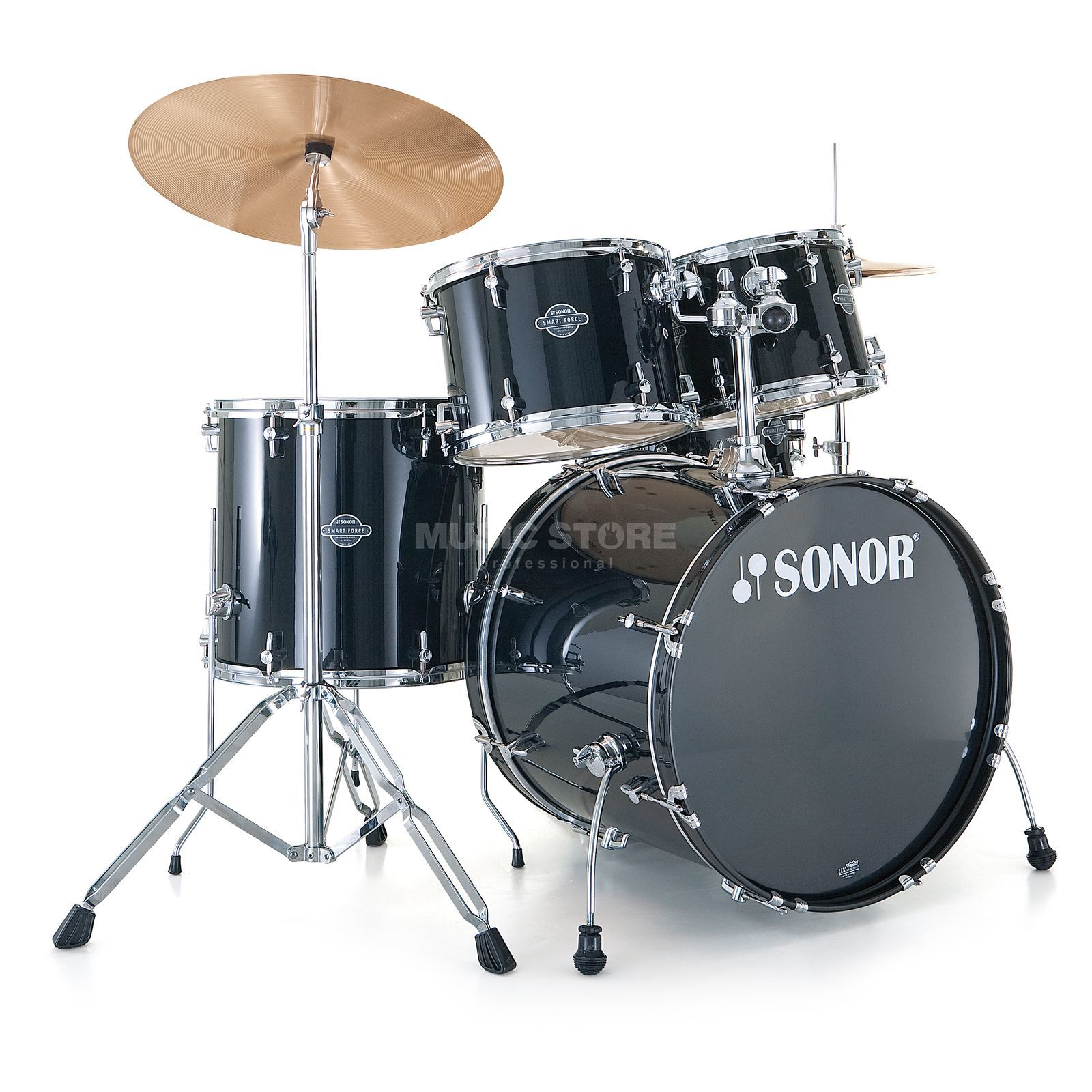 Sonor Smart Force Stage 2, Black #10, incl. Music Book Produktbillede