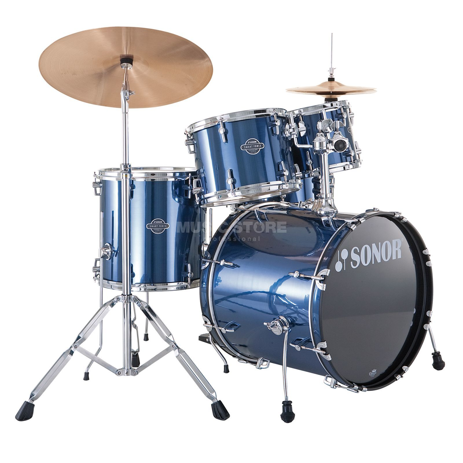 Sonor Smart Force Stage 2, Brushed Blue #09 Produktbillede