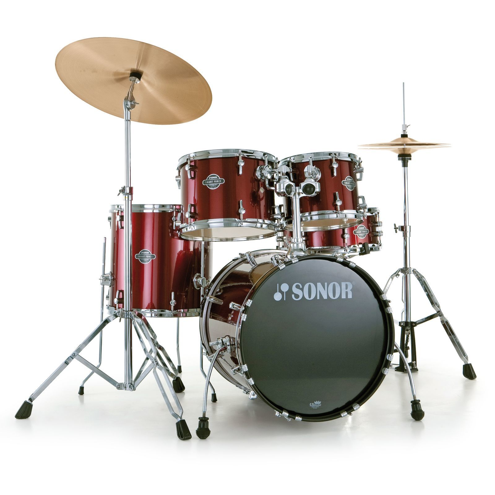 Sonor Smart Force Stage 2, Wine Red #11 incl.  Notenschule Produktbillede