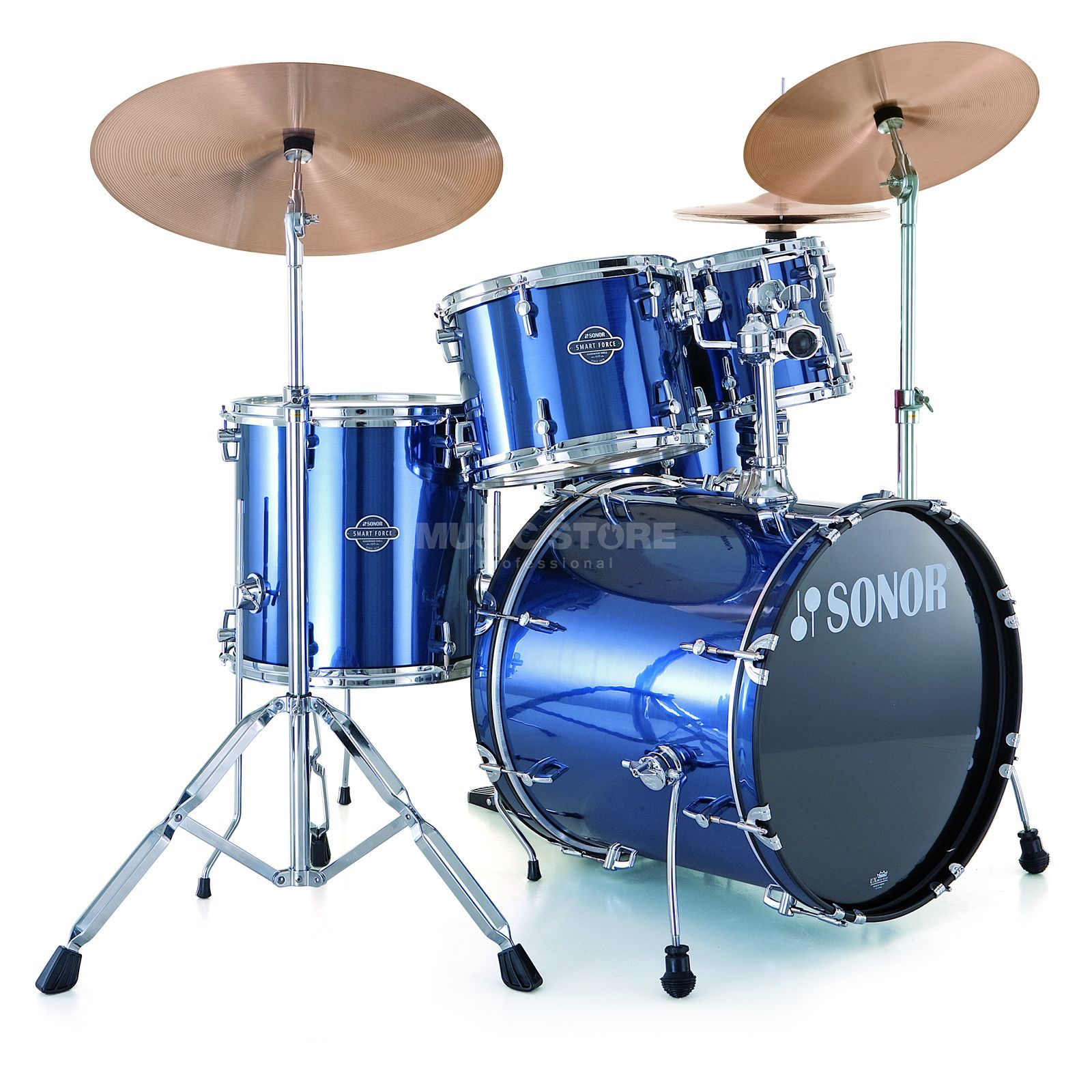 Sonor Smart Force Xtend Stage 2, Brushed Blue #09 Produktbillede