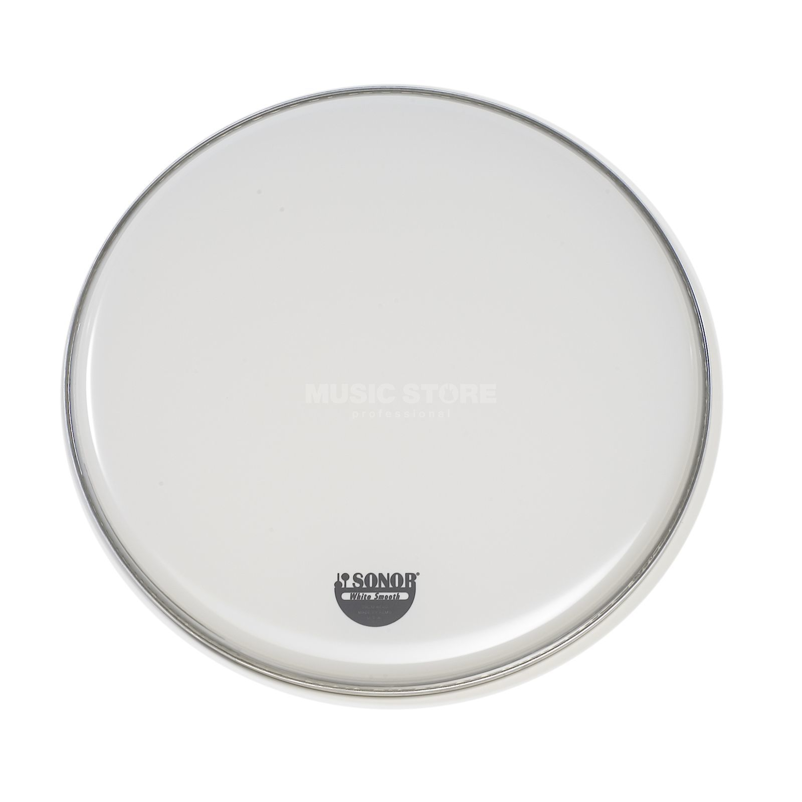 "Sonor Snare Drum Head WS 14, 14"", Marching, smooth white, 1-ply Produktbillede"