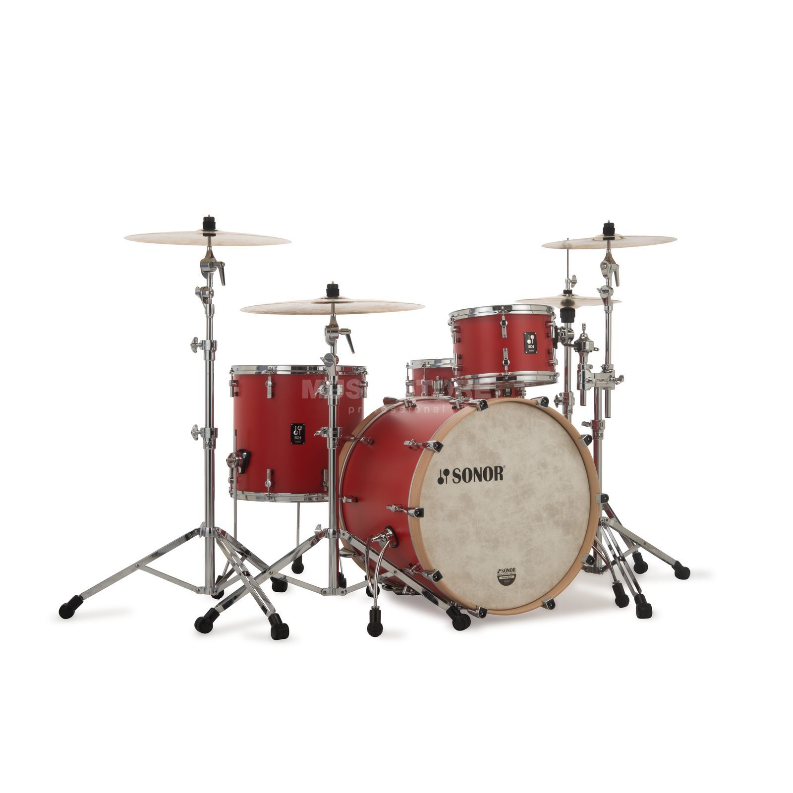 Sonor SQ1 320 Shell Set Hot Rod Red #HRR Imagem do produto