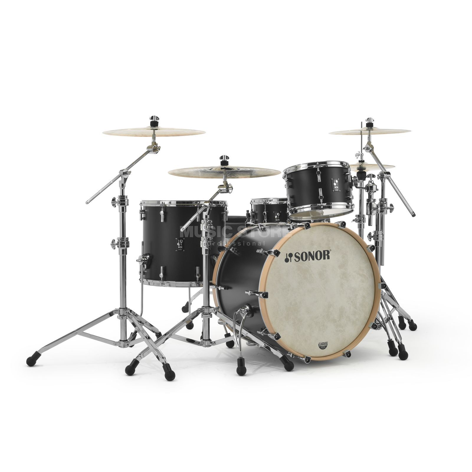 Sonor SQ1 322 Shell Set GT Black  #GTB Productafbeelding