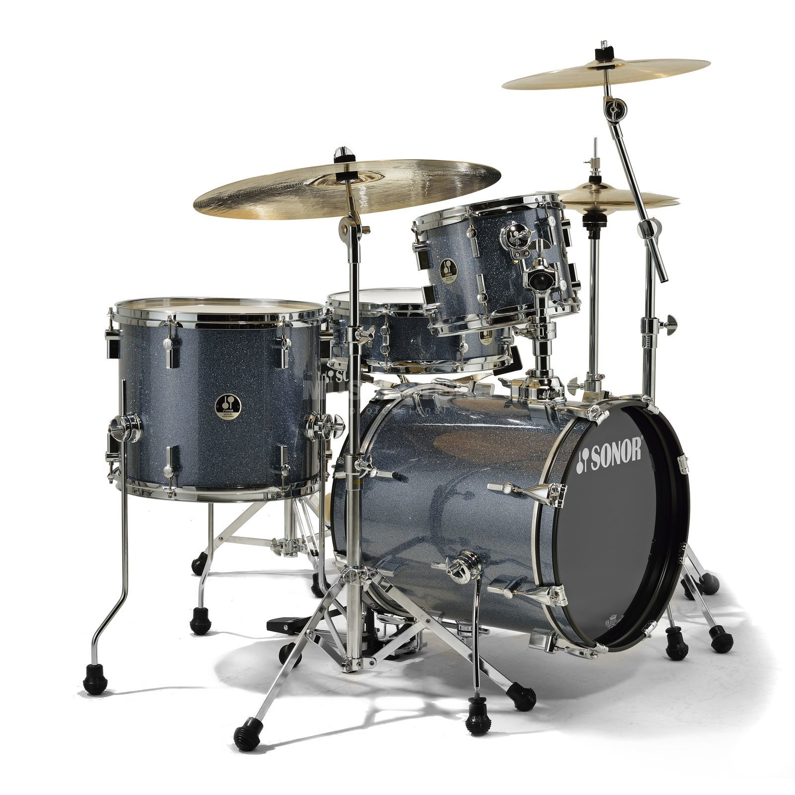 Sonor SSE 10 Safari ShellSet, Black Galaxy Sparkle Produktbild