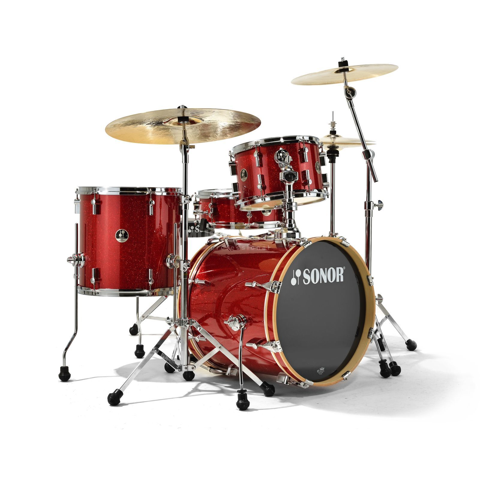 Sonor SSE 12 Bop ShellSet, Red Galaxy Sparkle Produktbillede
