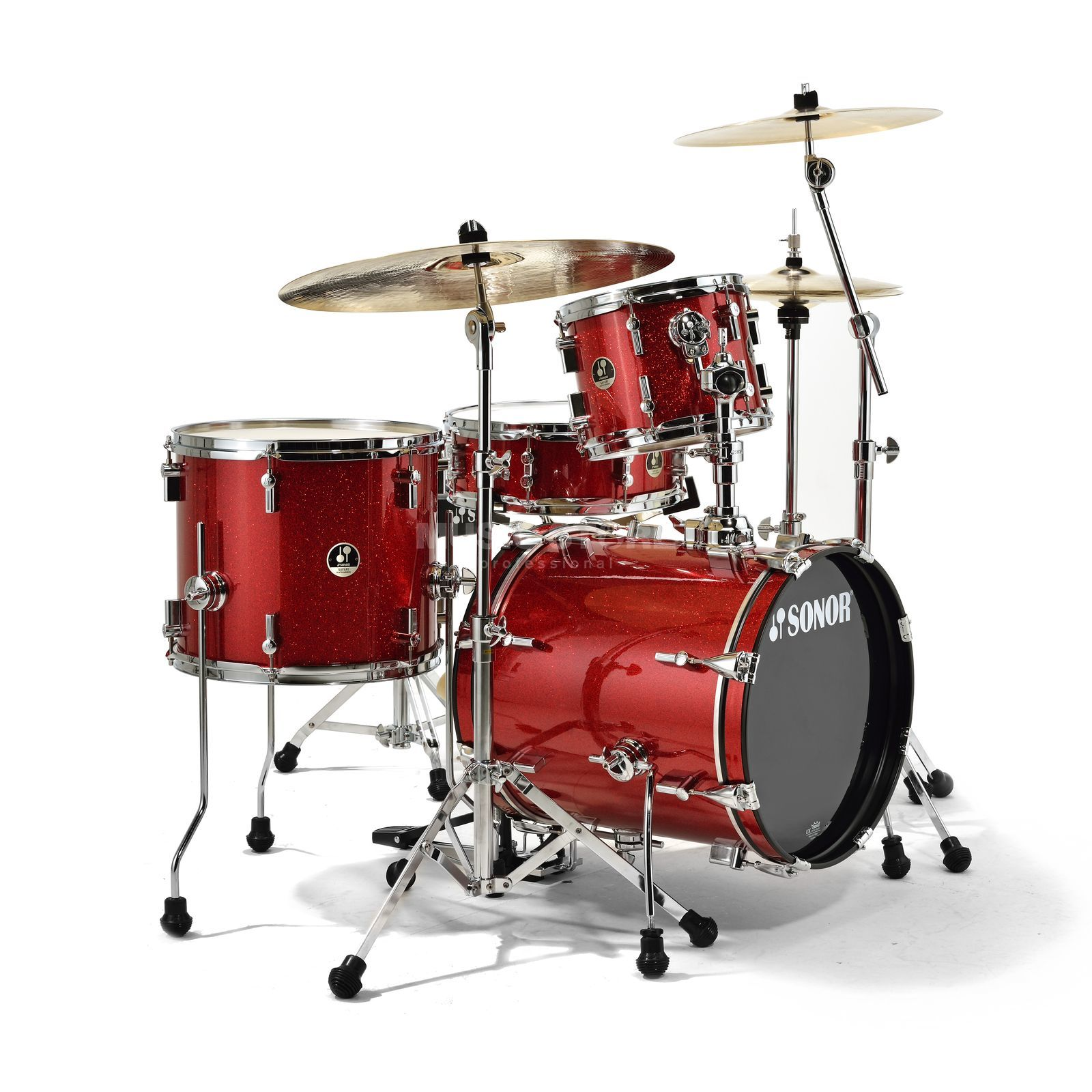 Sonor SSE 12 Safari ShellSet, Red Galaxy Sparke Produktbillede