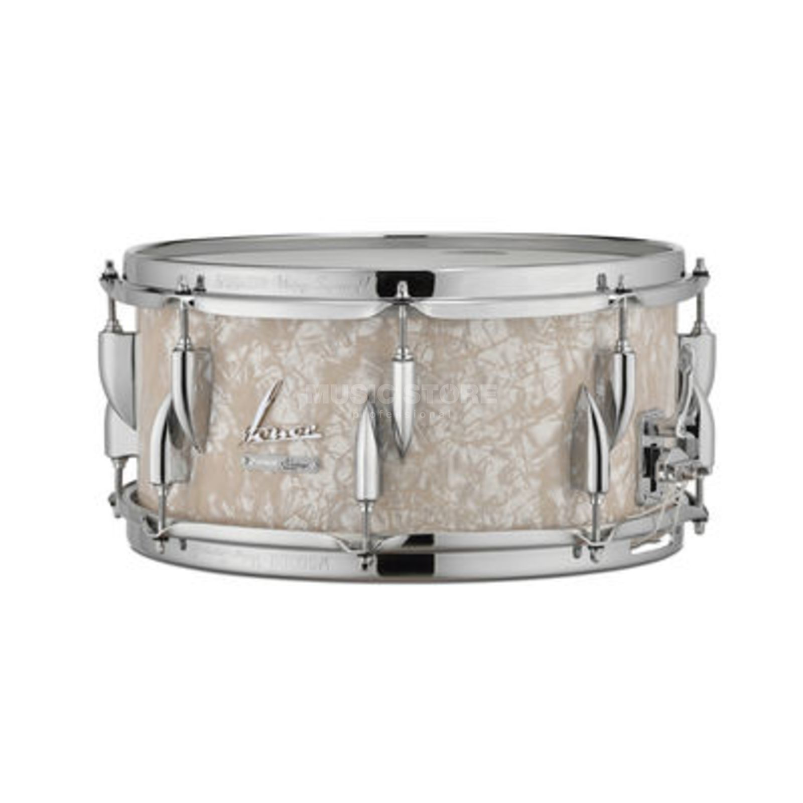 "Sonor Vintage Series Snare 14""x6.5"" Vintage Pearl Product Image"