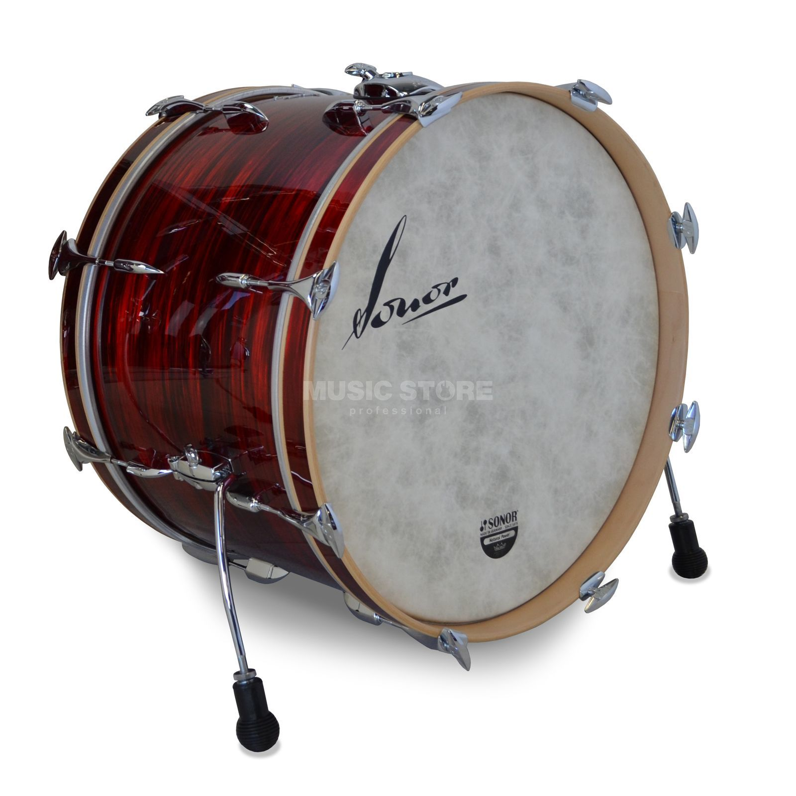"Sonor VintageSeries BassDrum 18""x14"" Vintage Red Oyster, w/mount Imagen del producto"