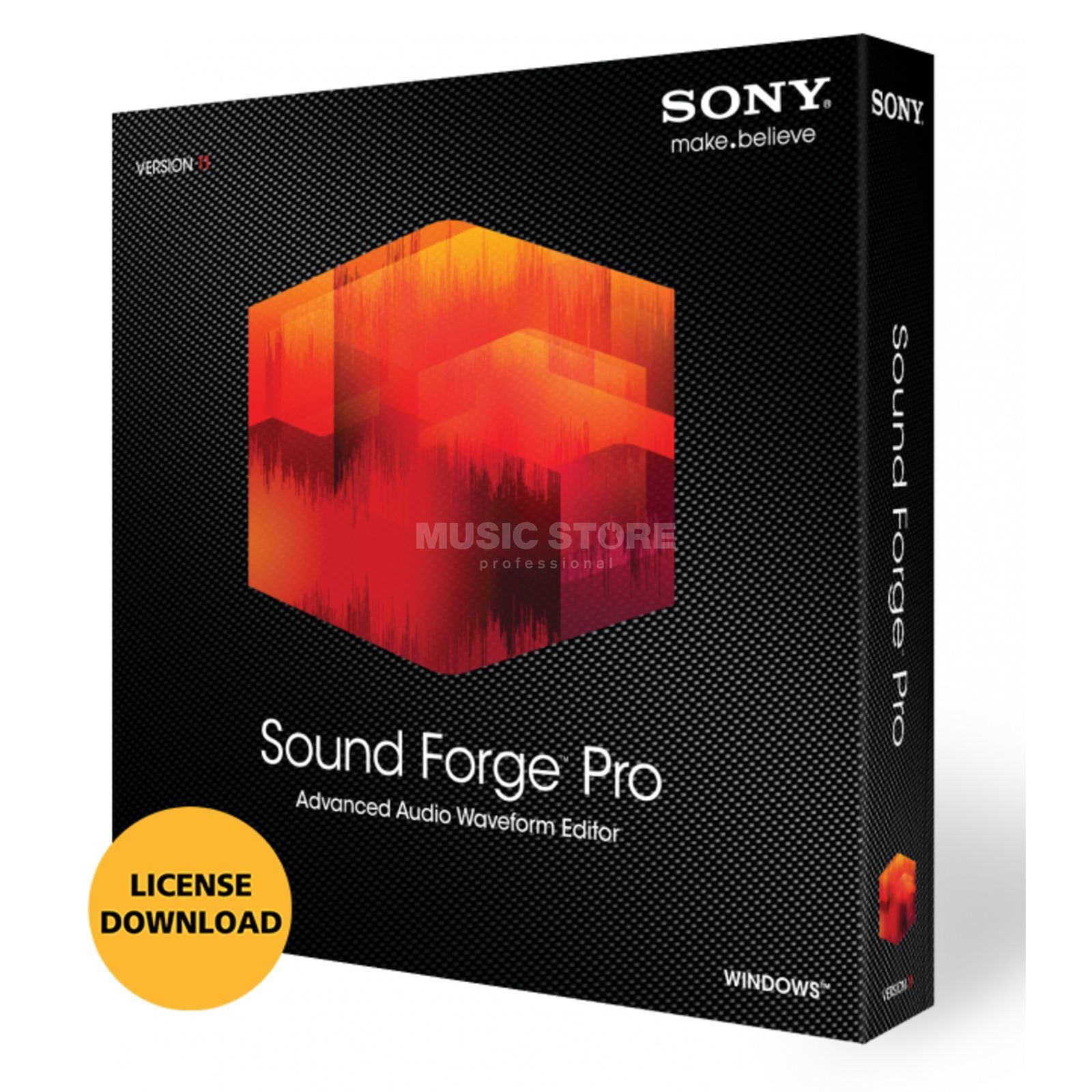 Sony Sound Forge Pro 11 PC (Lizenzcode) Produktbild