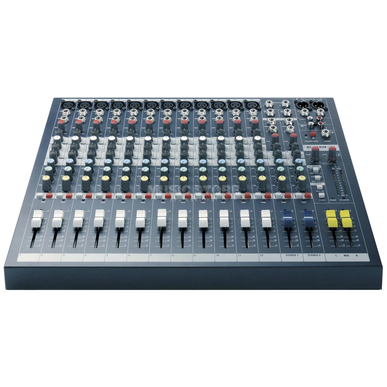 Soundcraft epm 12 mesa de mezcla compacta 12 mono 2 canales est reo - Mesa de mezclas 2 canales ...