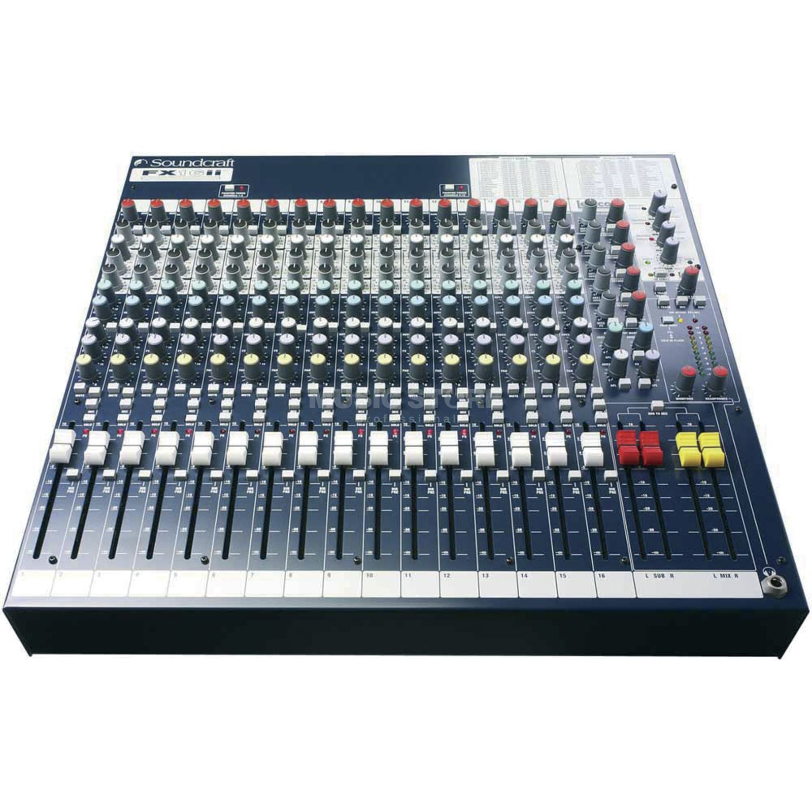 Soundcraft FX16II SPIRIT FOLIO Stereo Mixer with Lexicon Effects Produktbillede
