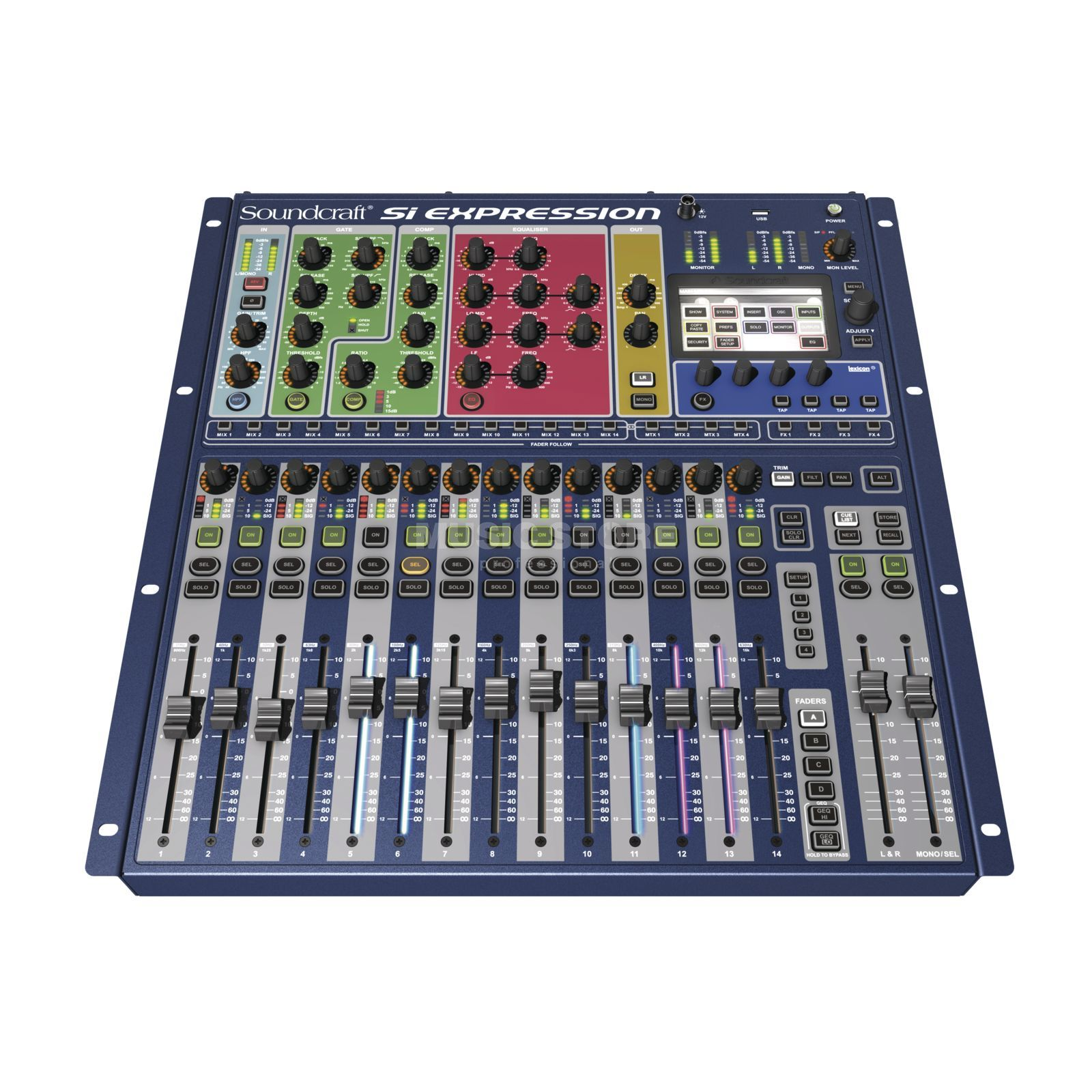 "Soundcraft Si Expression 1 16 Kanal, 19"", Digitalmixer Produktbild"