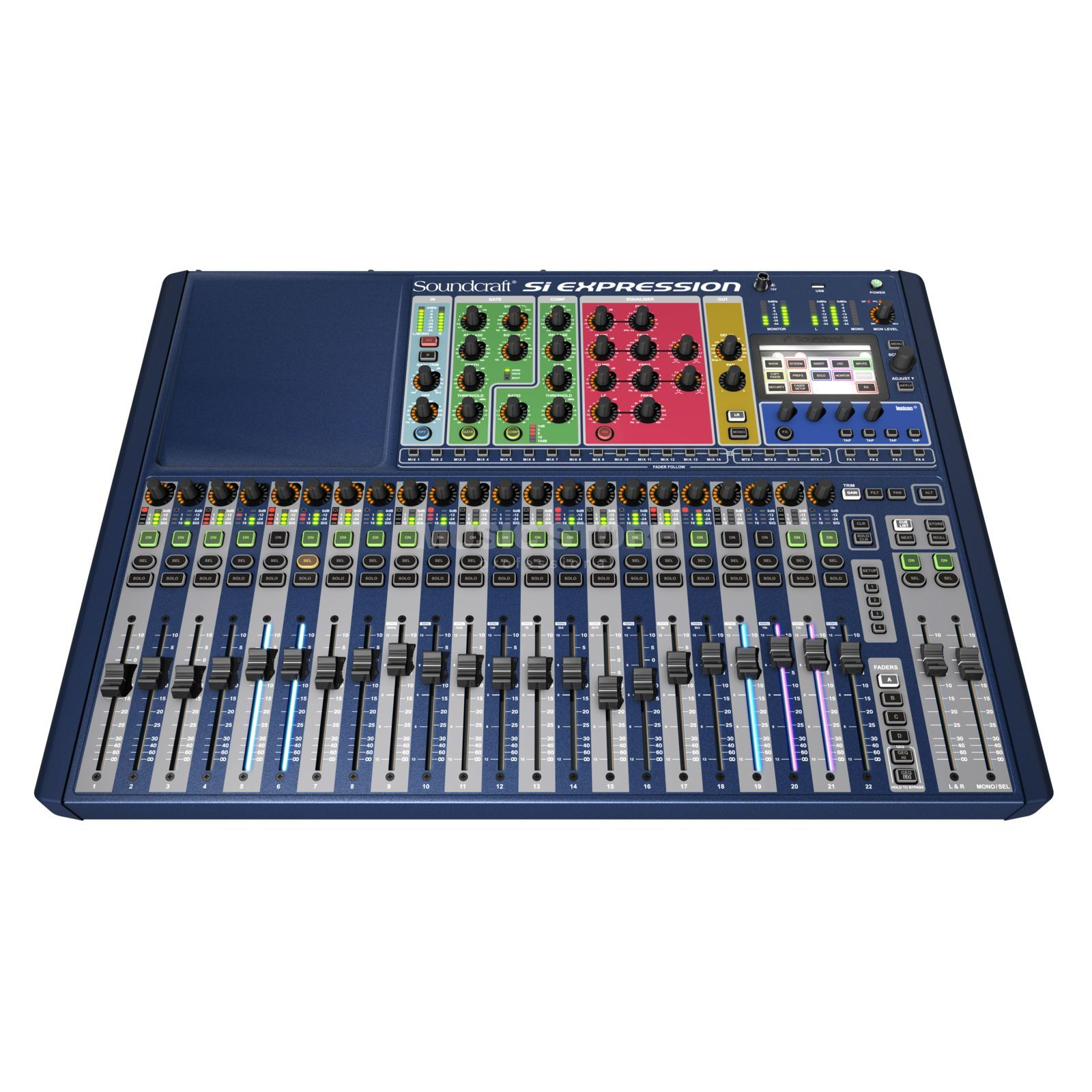 Soundcraft Si Expression 2 24 Kanal Digitalmixer Produktbild
