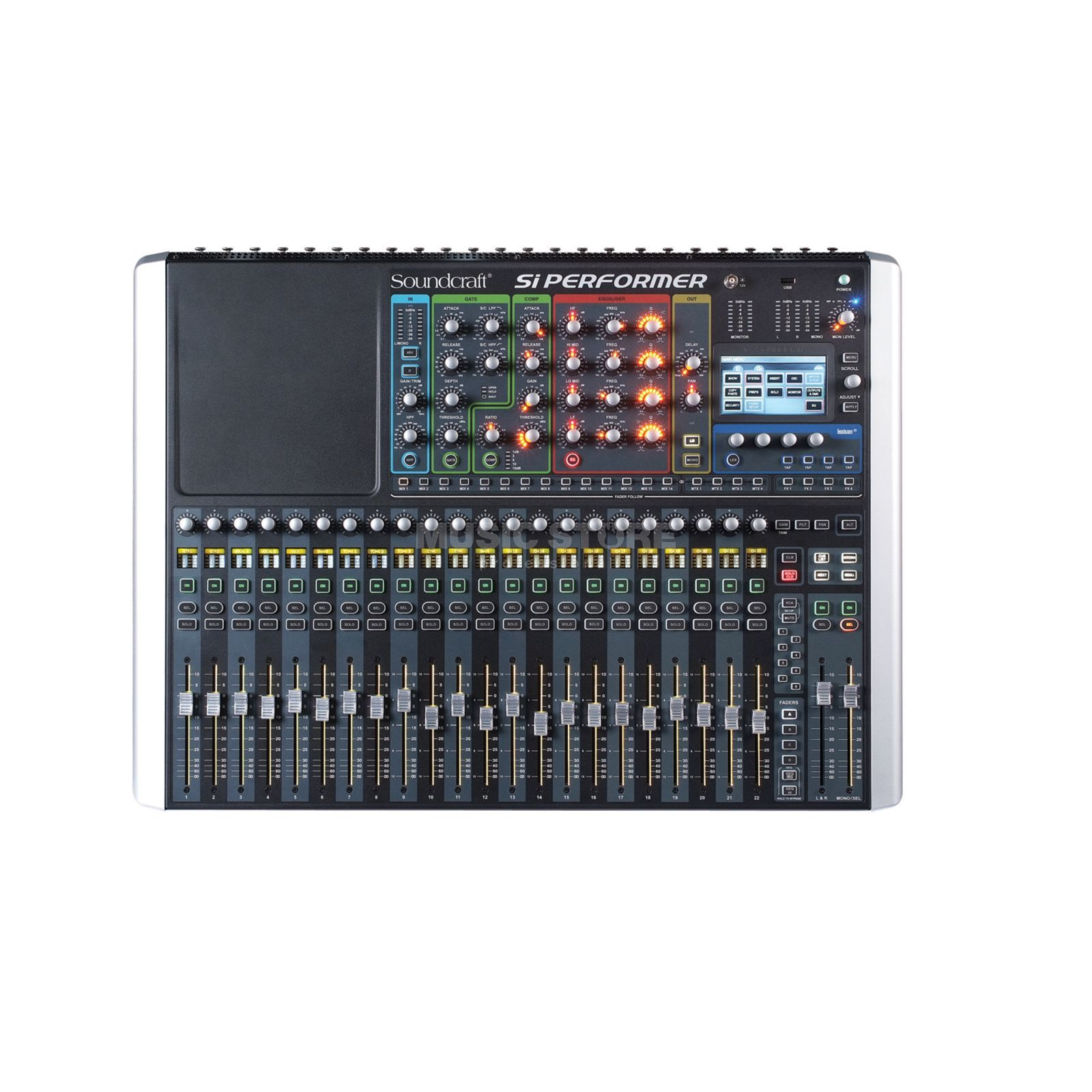 Soundcraft SI Performer 2 with DMX512 Port, 24 Fader Produktbillede