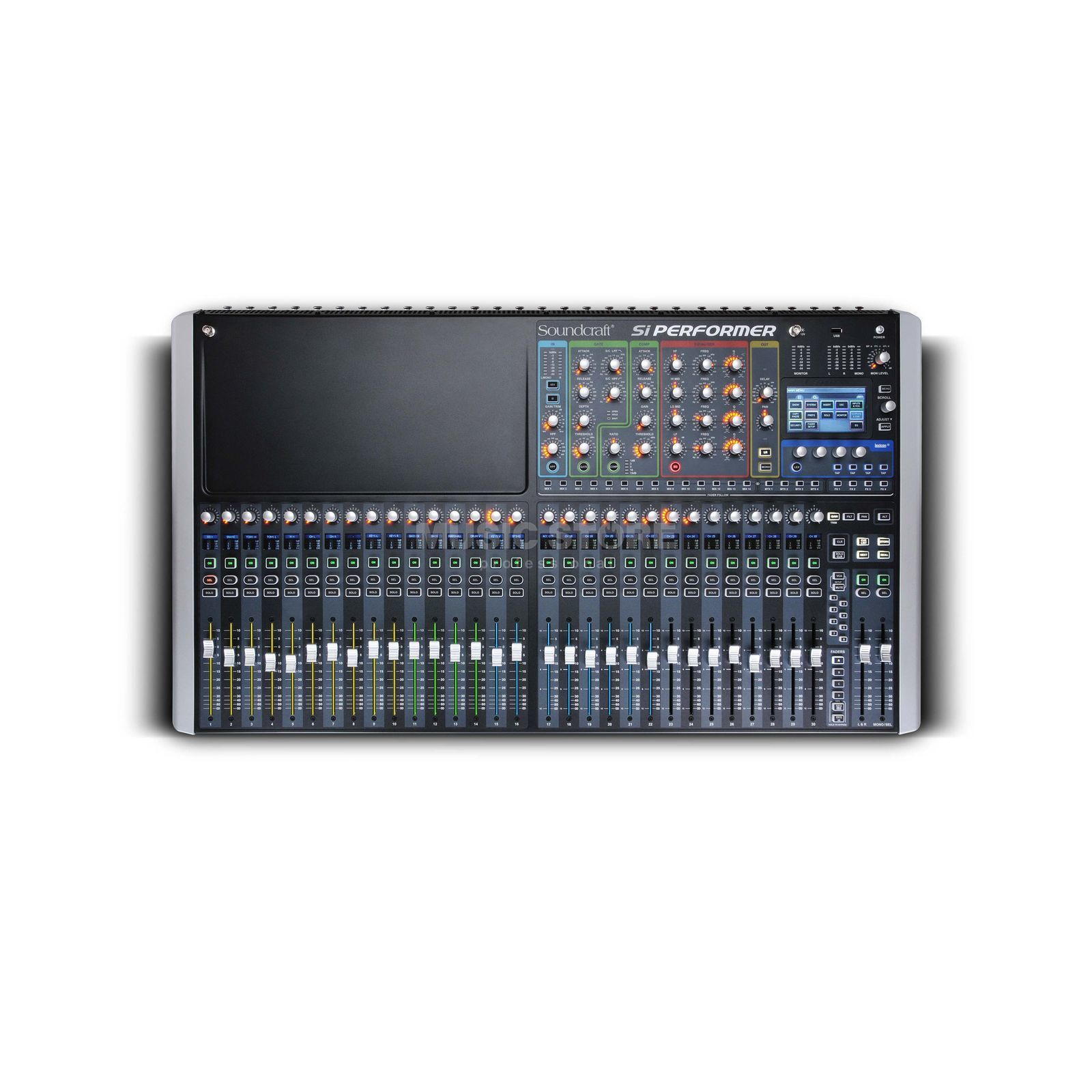 Soundcraft SI Performer 3 with DMX512 Port, 32 Fader Produktbillede