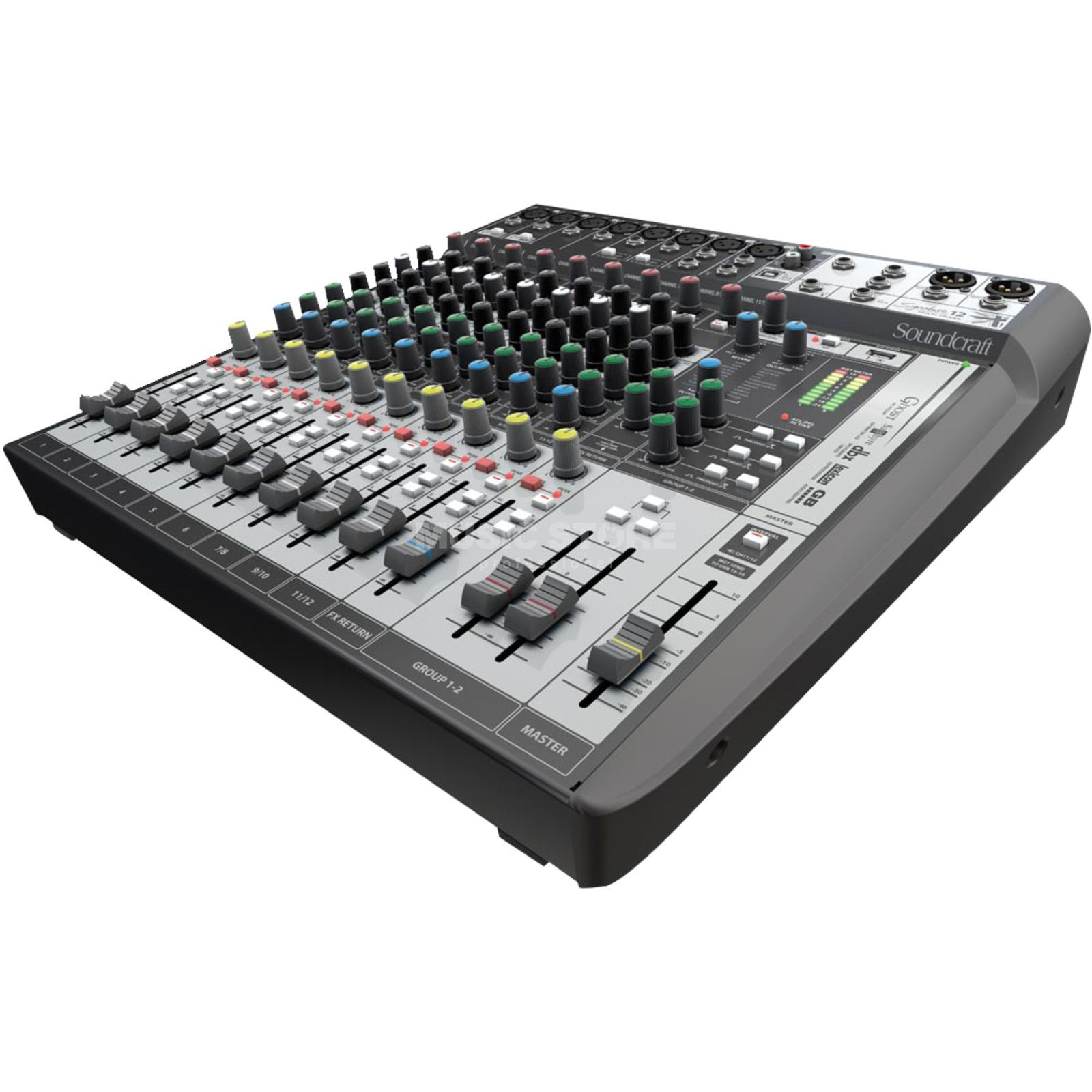 Soundcraft Signature 12 MTK Mixer inkl.Ableton LiveLite Software Produktbild