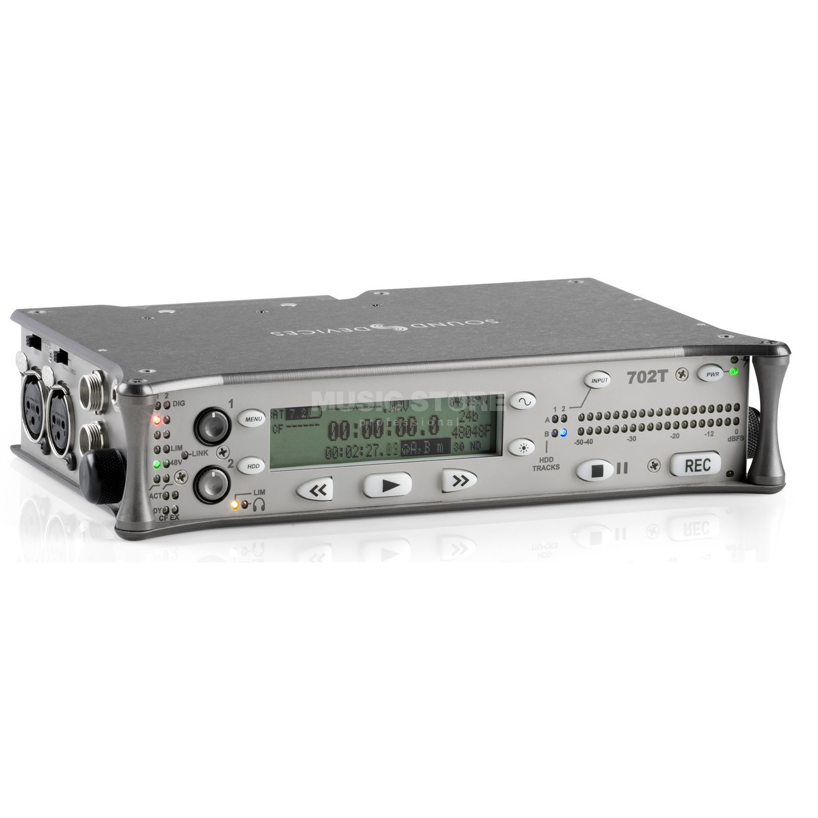 Sounddevices 702T 2-Channel CF-Recorder Produktbillede