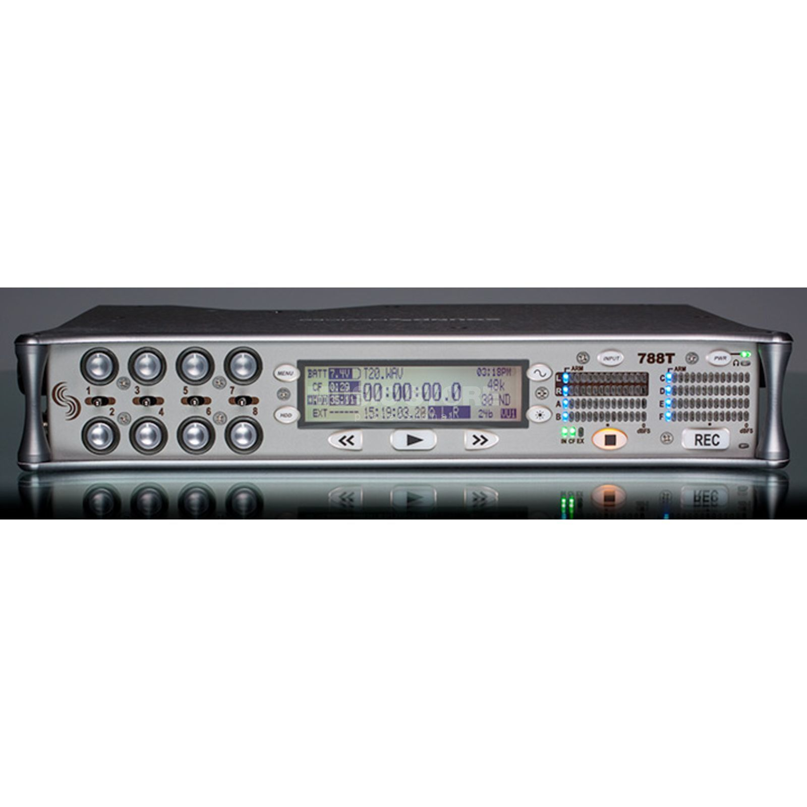 Sounddevices 788T SSD Dig. Audio Recorder  Produktbillede