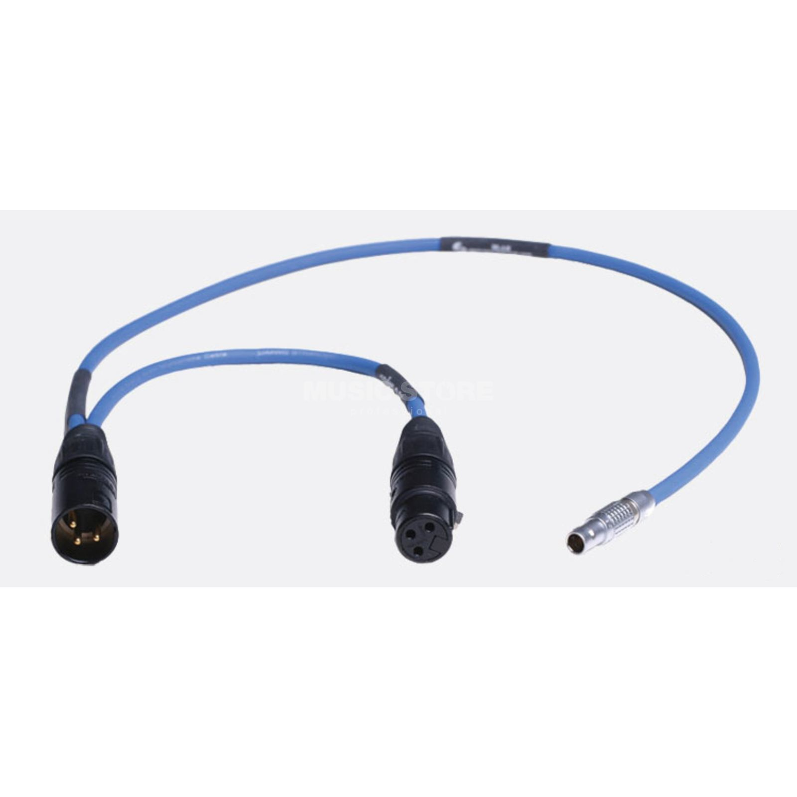 Sounddevices XL Lx - AR Cable TC I/O: Lemo-5/XLR3-M+XLR3-F Produktbillede