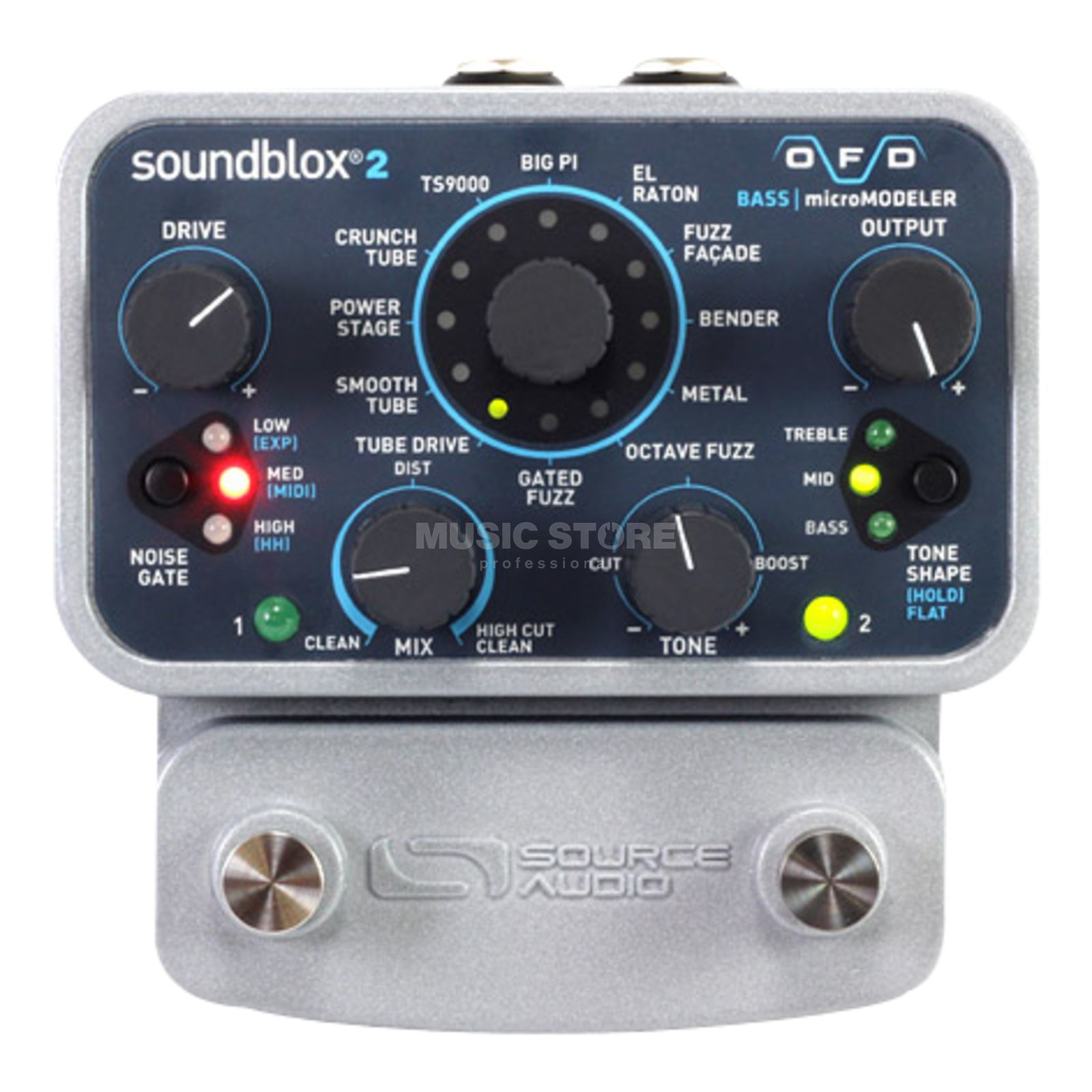 Source Audio Soundblox 2 OFD Bass microModeler Produktbild