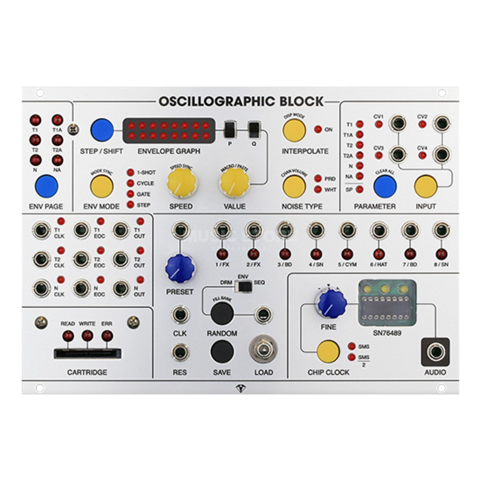 Special Stage Systems Oscillographic Block chip-audio workstation Produktbillede