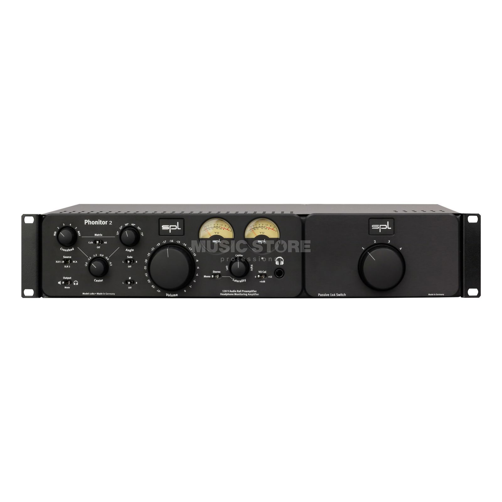 SPL Electronics Expansion Rack black Phonitor 2 / SMC 7.1 Rackmount Produktbillede