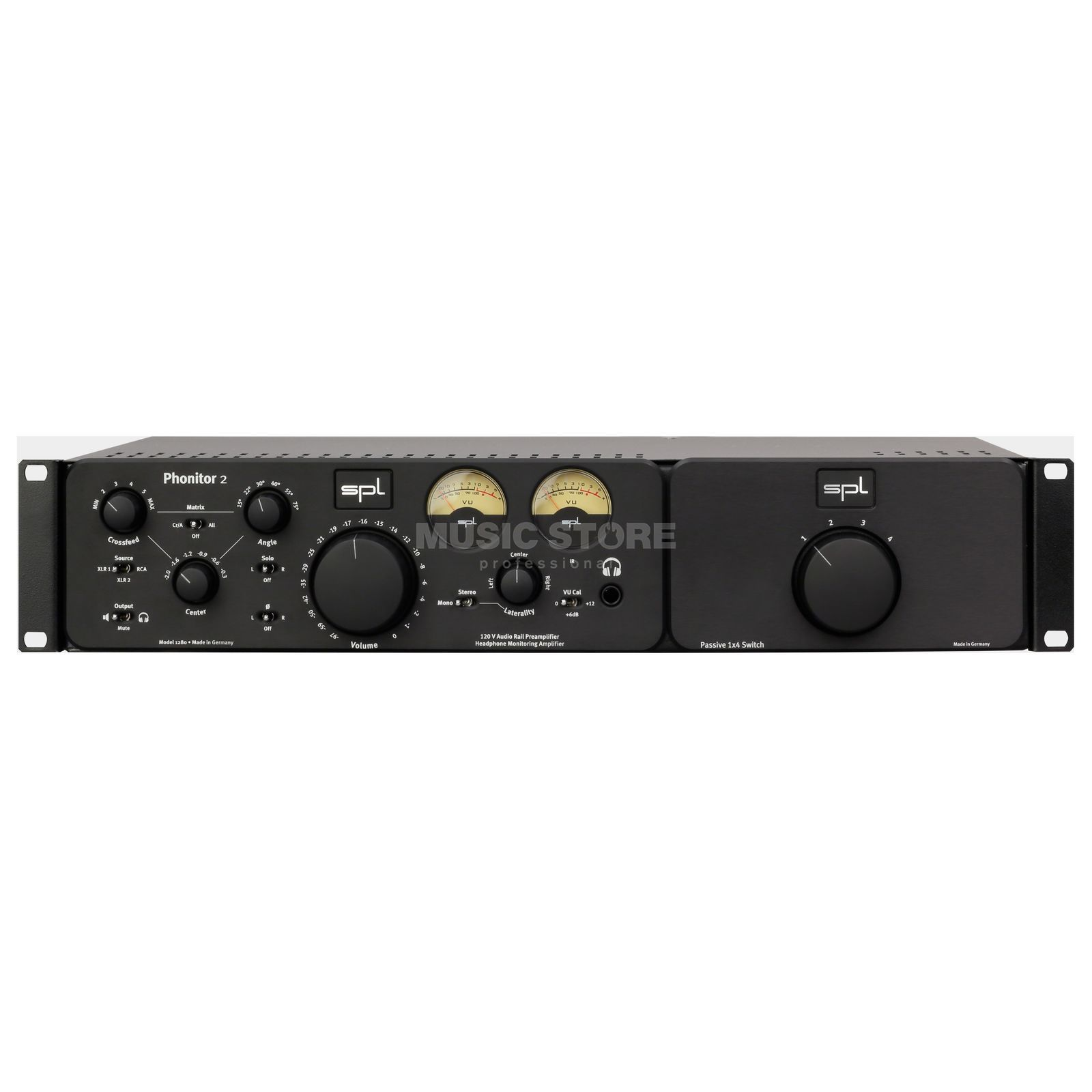 SPL Electronics Phonitor 2 + Expansion Rack Bundle black Produktbild