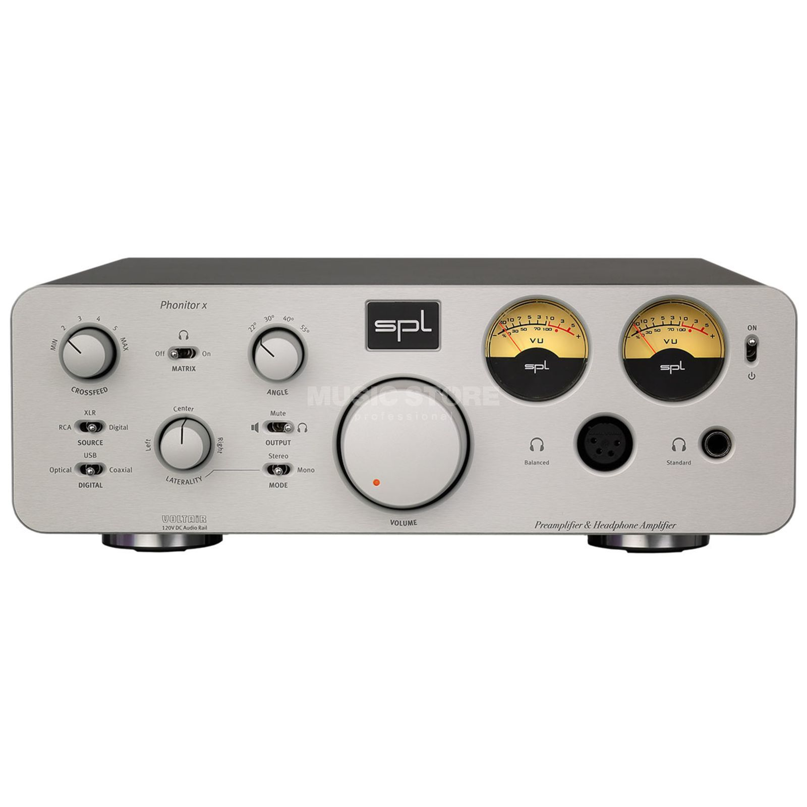 SPL Electronics Phonitor X + DA Silver Product Image